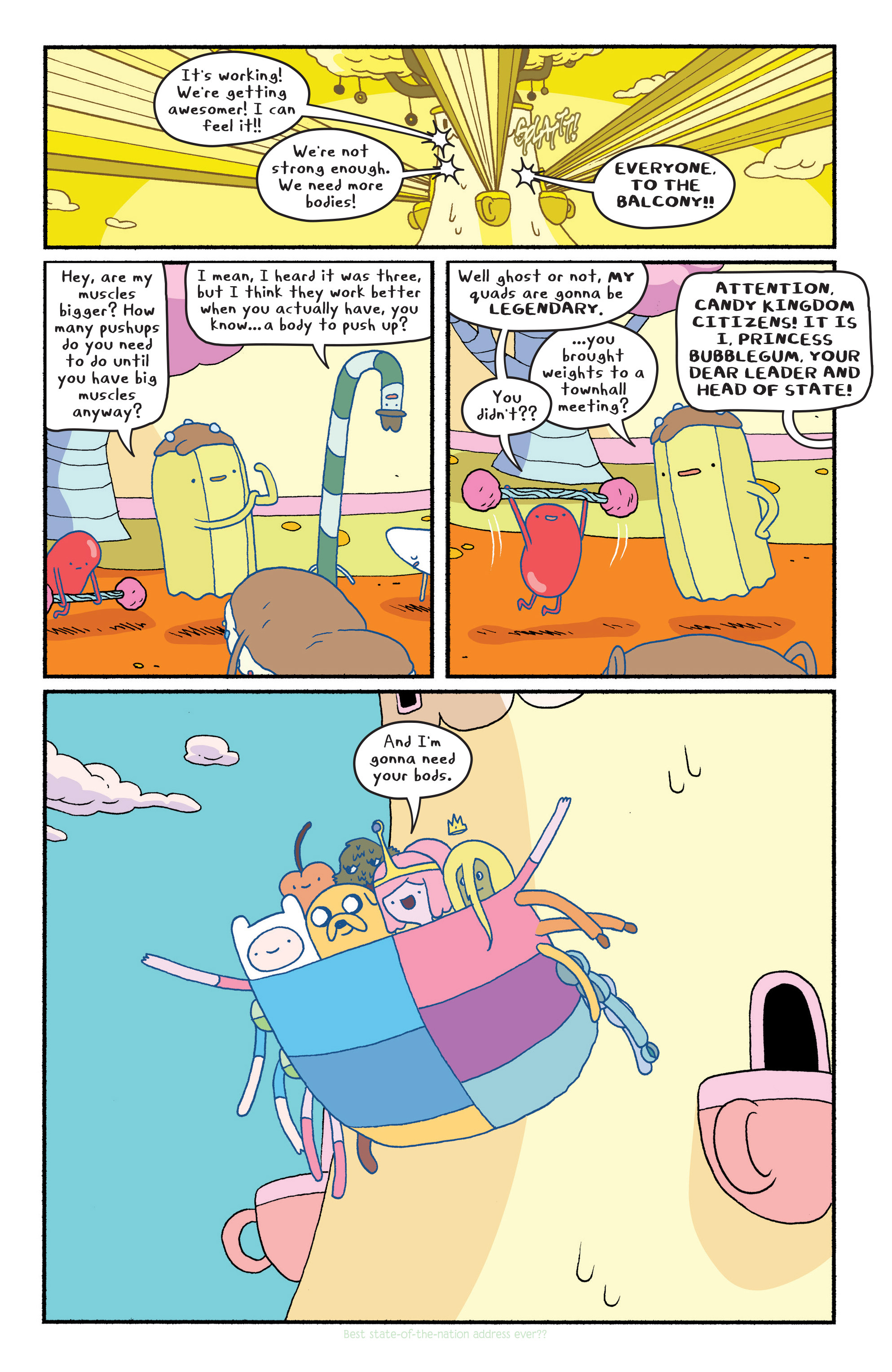 Read online Adventure Time comic -  Issue #29 - 9
