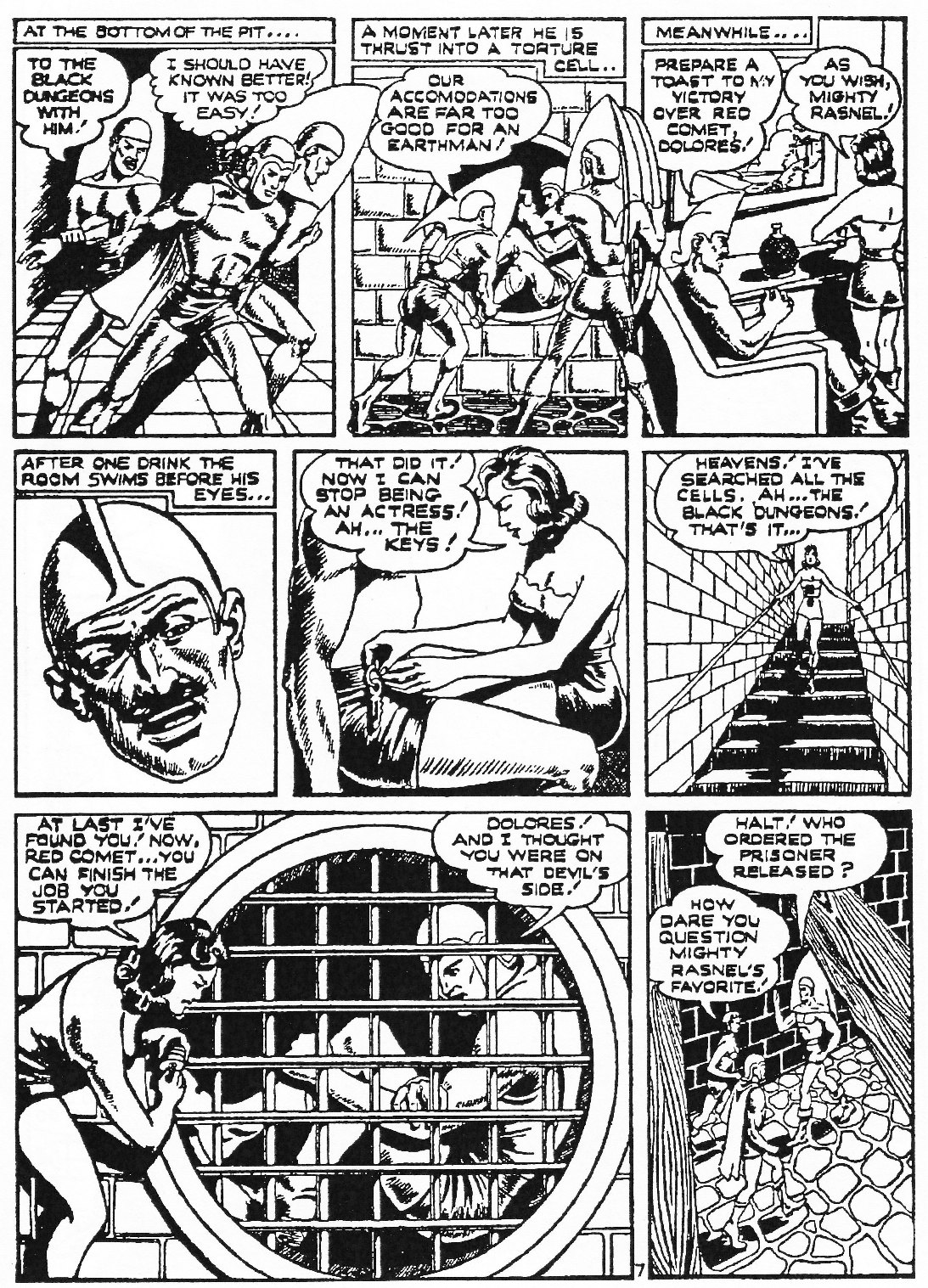 Read online Men of Mystery Comics comic -  Issue #72 - 65