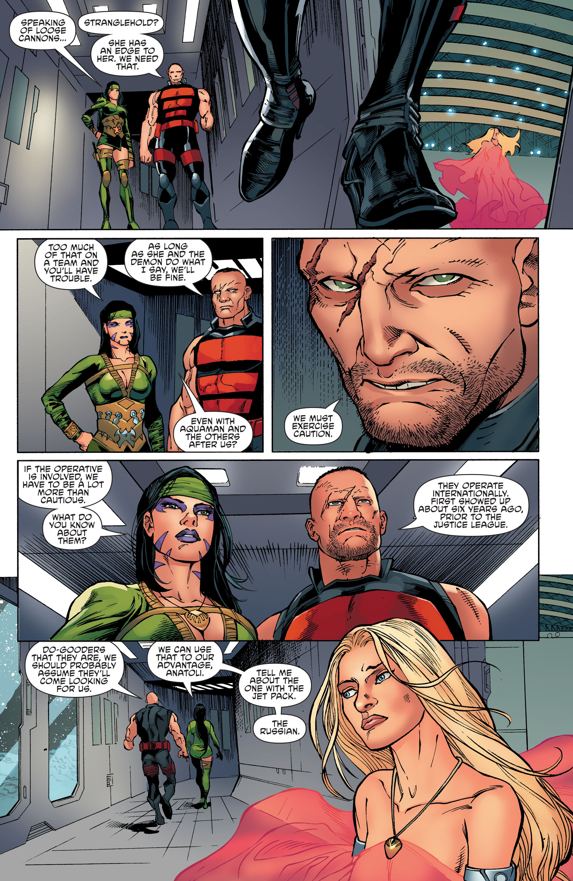 Read online Aquaman and the Others comic -  Issue #8 - 10