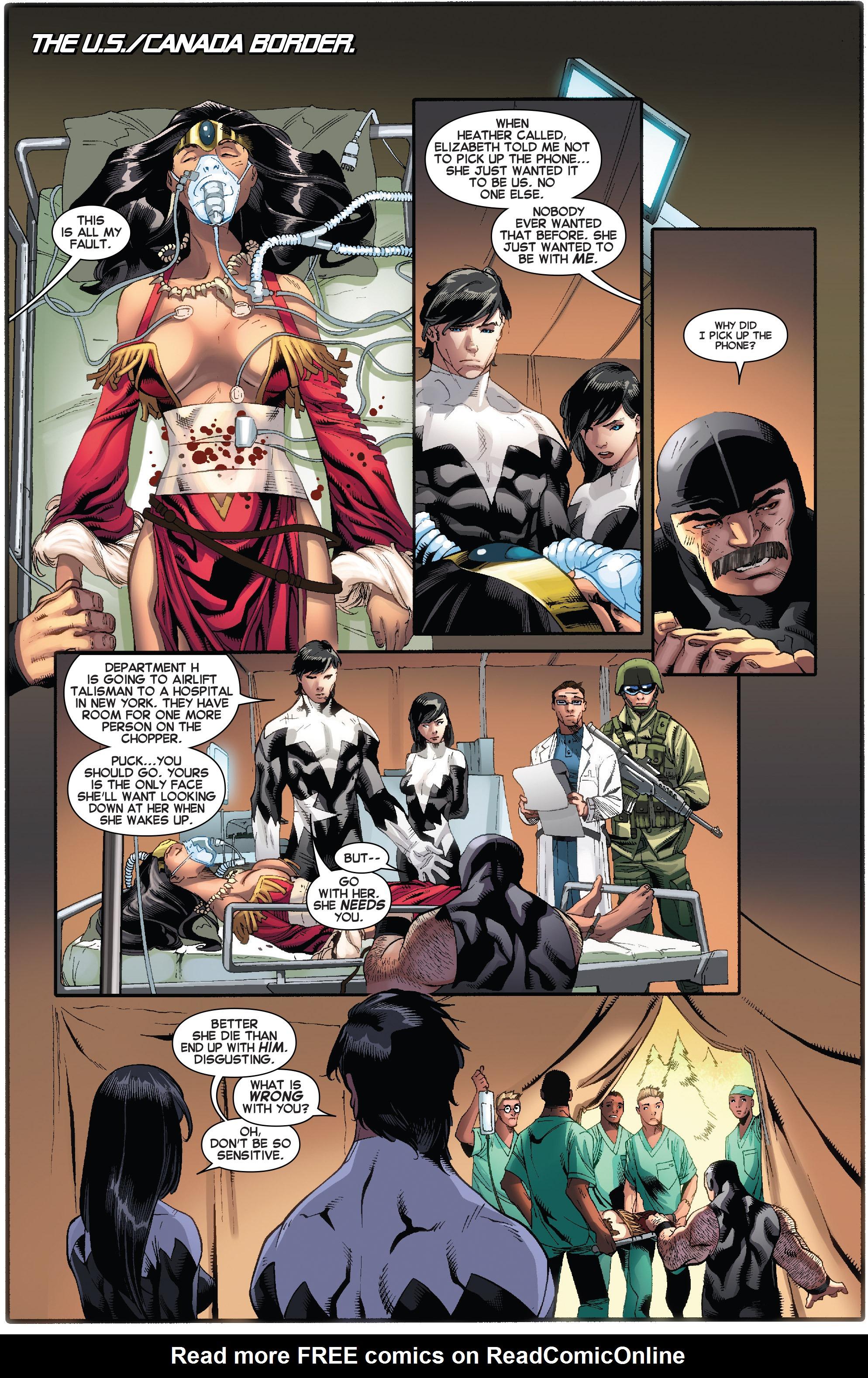 Read online Amazing X-Men (2014) comic -  Issue #11 - 13