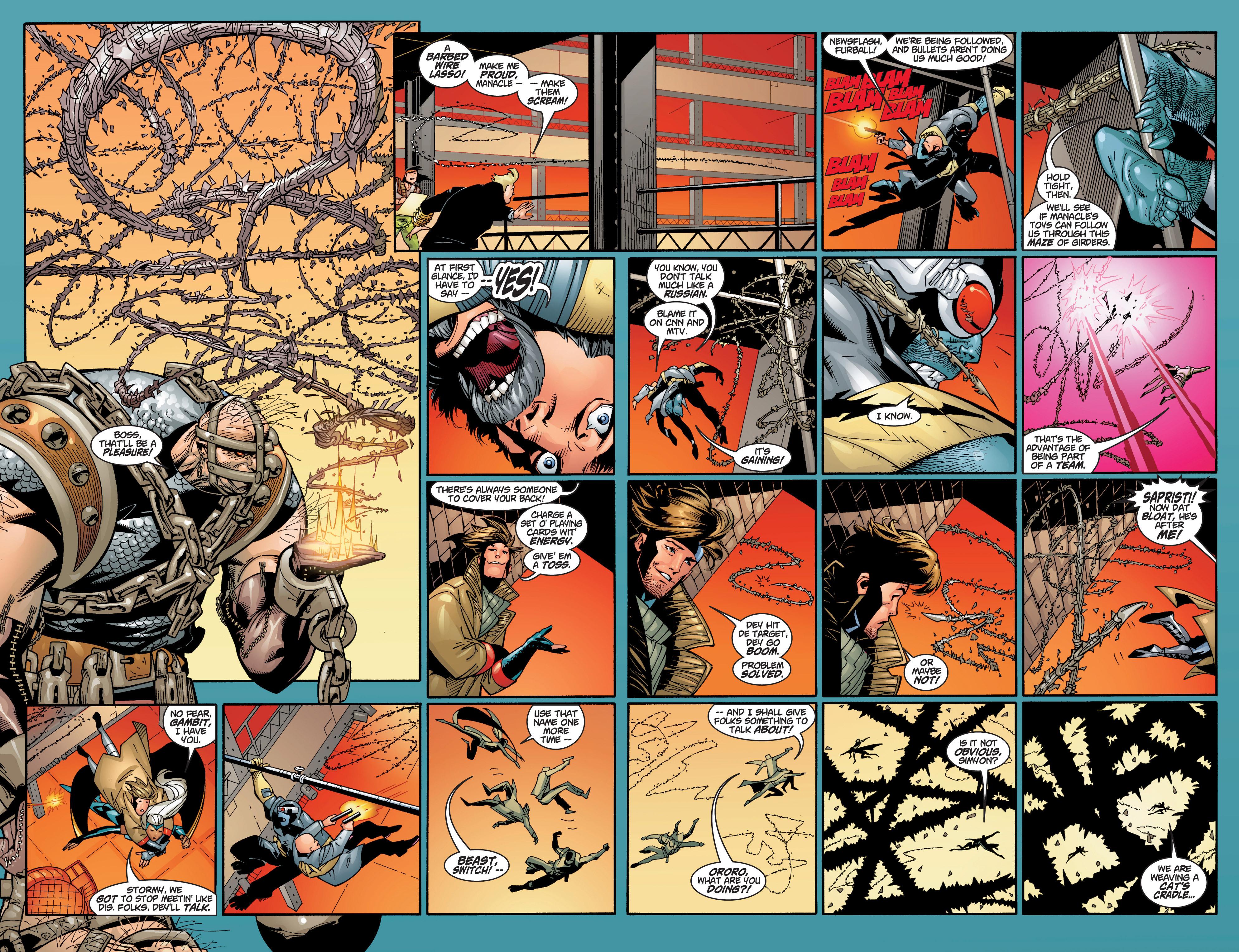 Read online Uncanny X-Men (1963) comic -  Issue #383 - 28