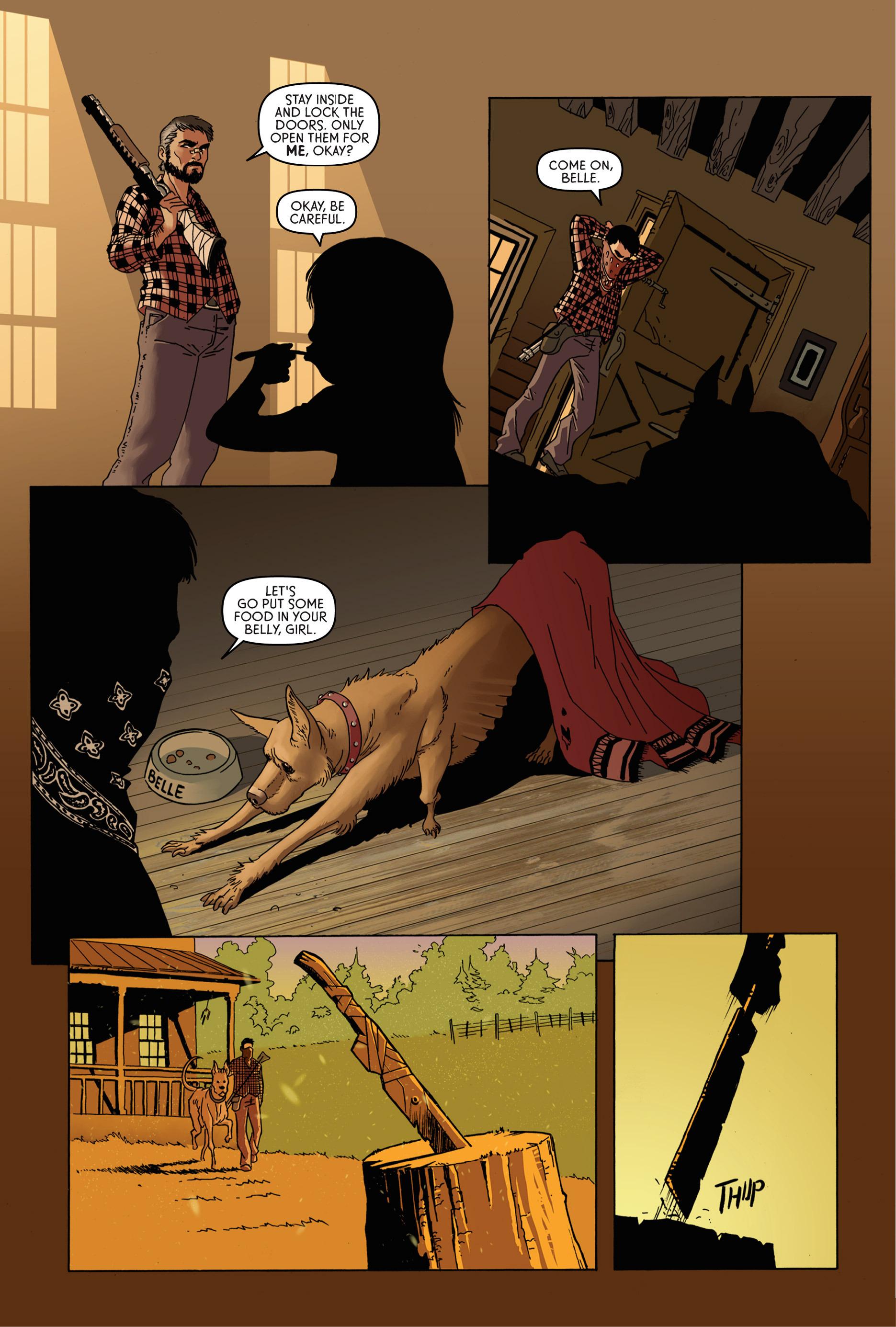 Read online Trespasser comic -  Issue #1 - 3