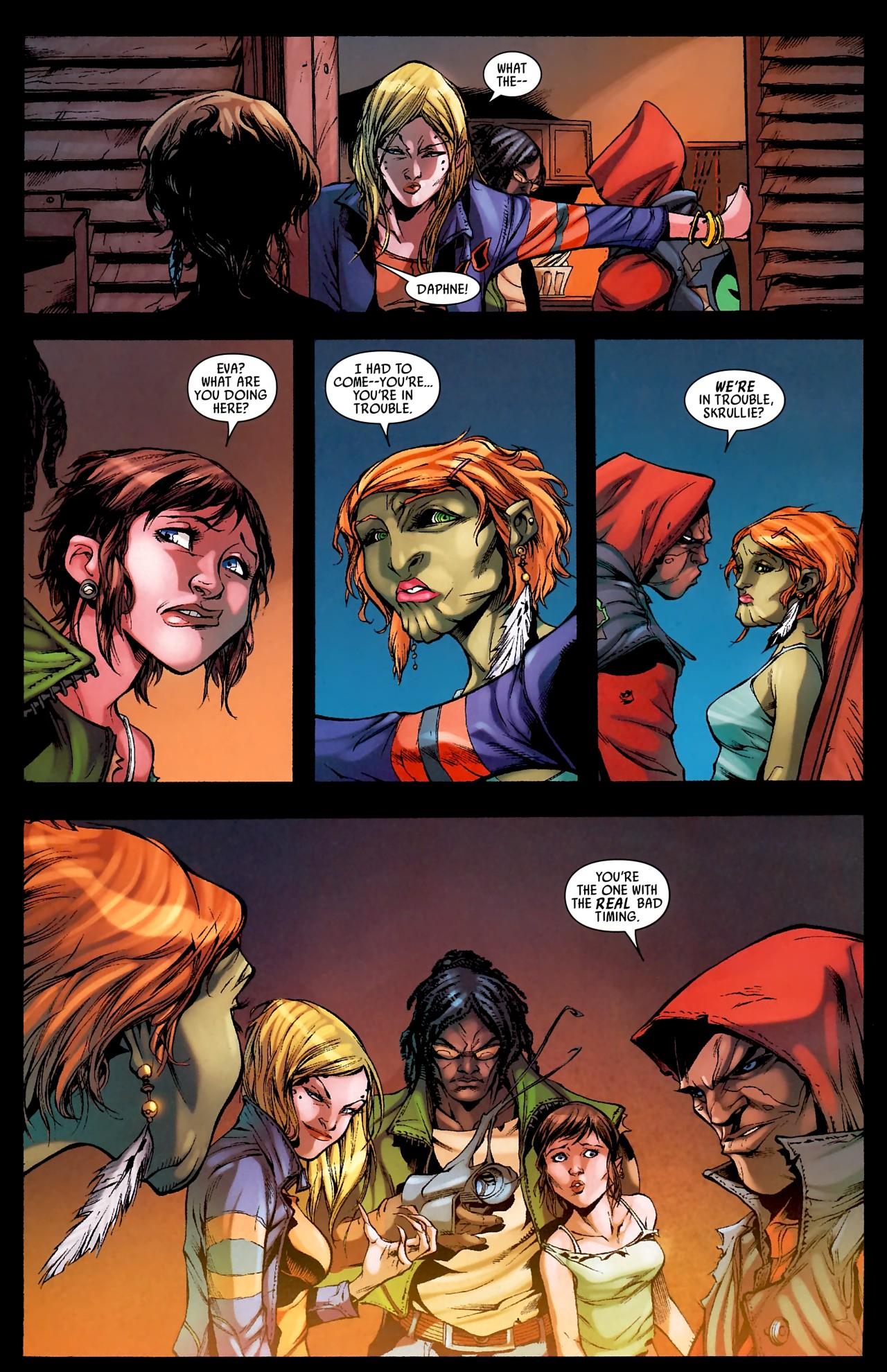 Read online Skrull Kill Krew (2009) comic -  Issue #4 - 17