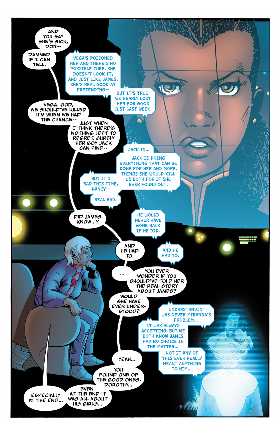 Read online The Many Adventures of Miranda Mercury: Time Runs Out comic -  Issue # TPB - 150