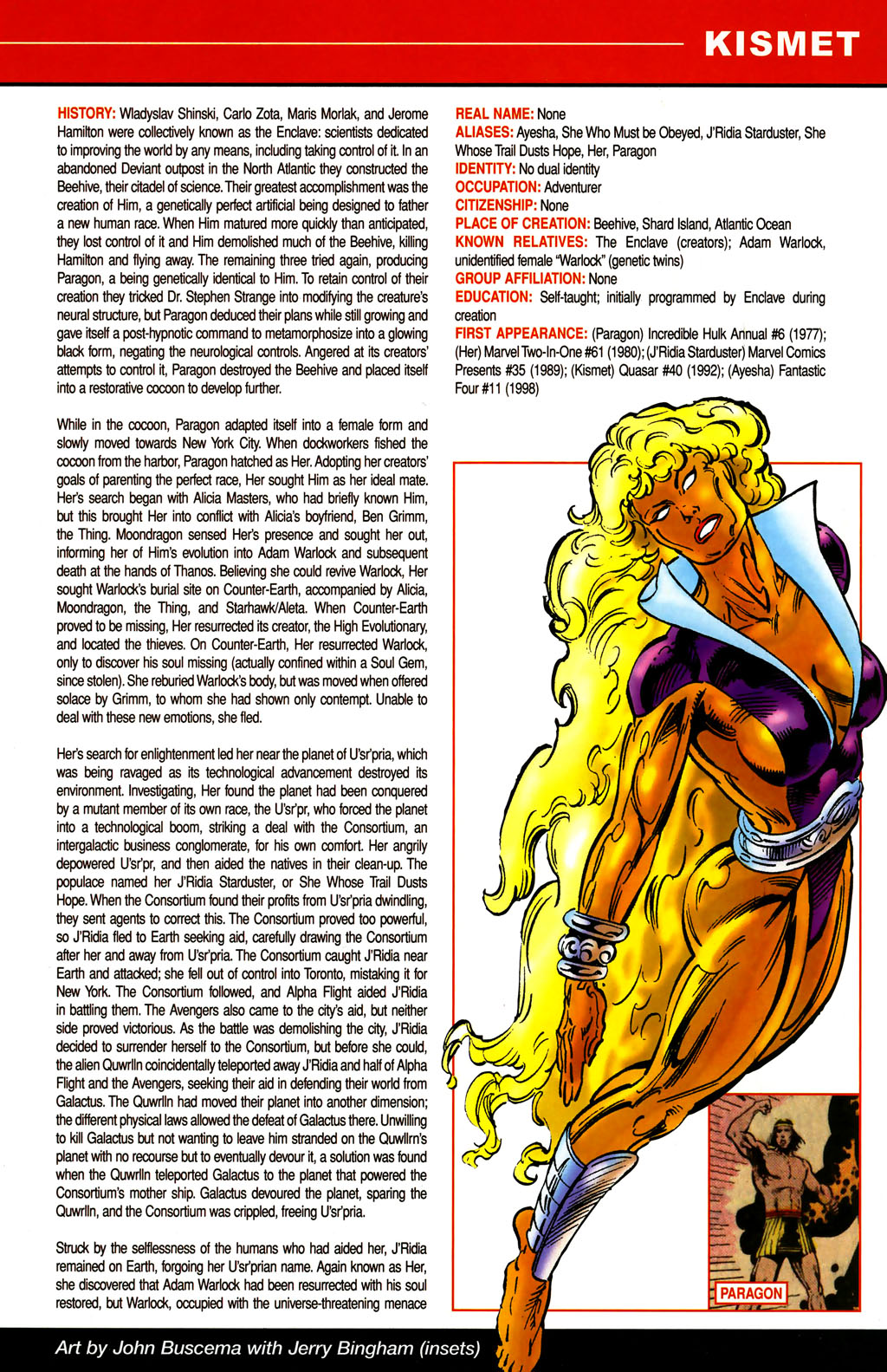 Read online All-New Official Handbook of the Marvel Universe A to Z comic -  Issue #6 - 15
