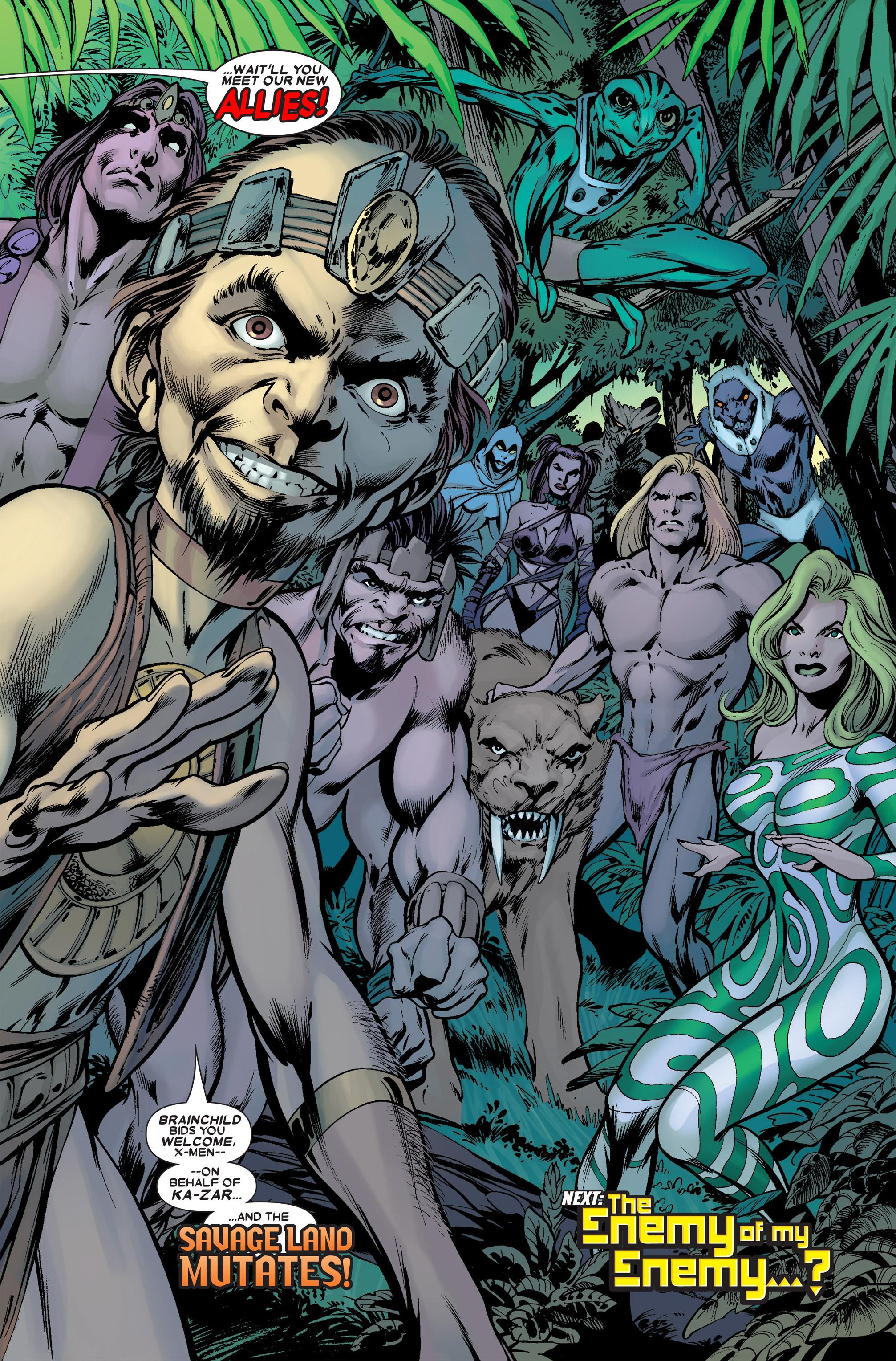 Read online Uncanny X-Men (1963) comic -  Issue #457 - 22