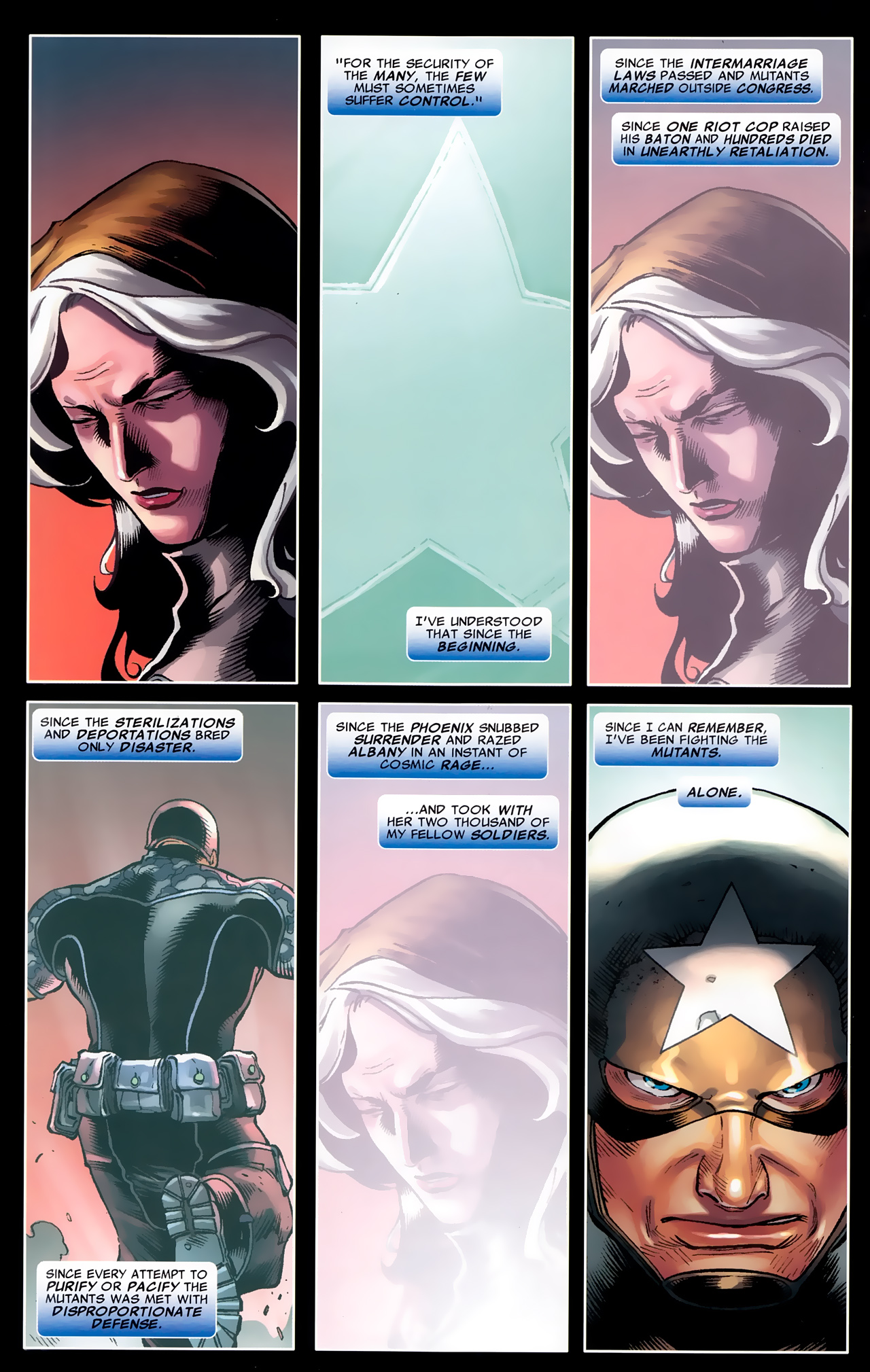 Read online Age of X: Universe comic -  Issue #1 - 5