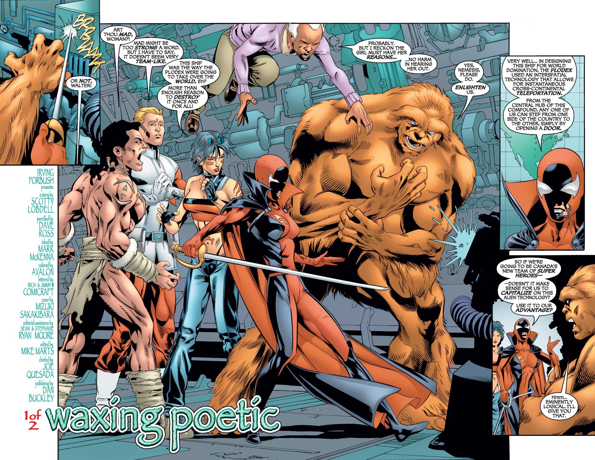 Read online Alpha Flight (2004) comic -  Issue #7 - 4