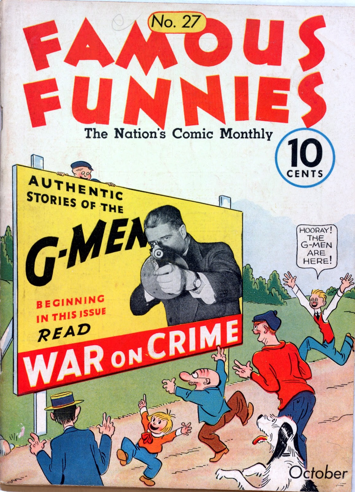 Read online Famous Funnies comic -  Issue #27 - 1