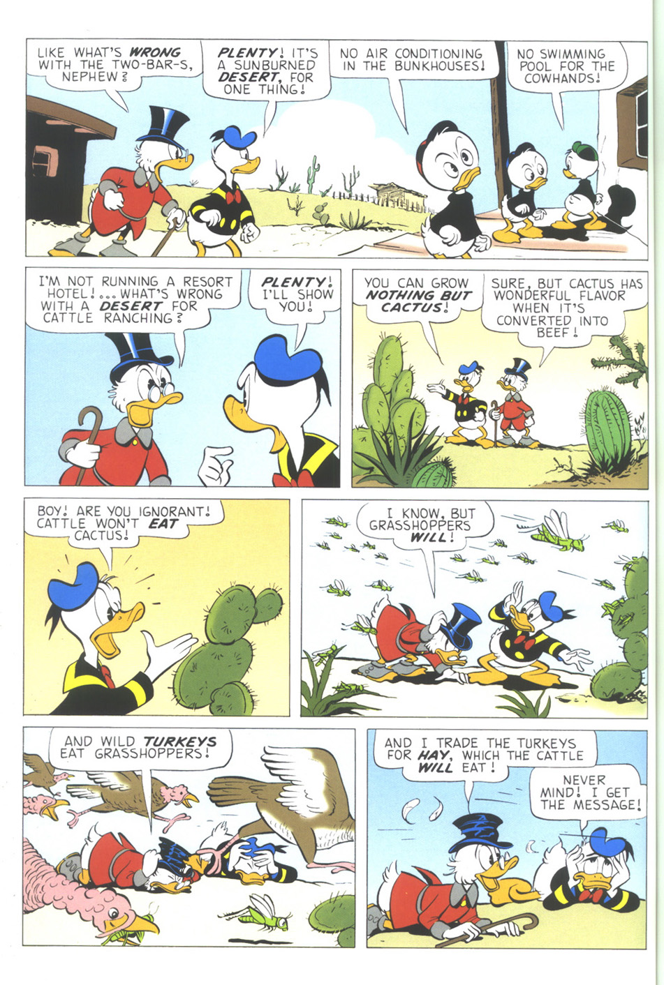 Read online Uncle Scrooge (1953) comic -  Issue #344 - 44