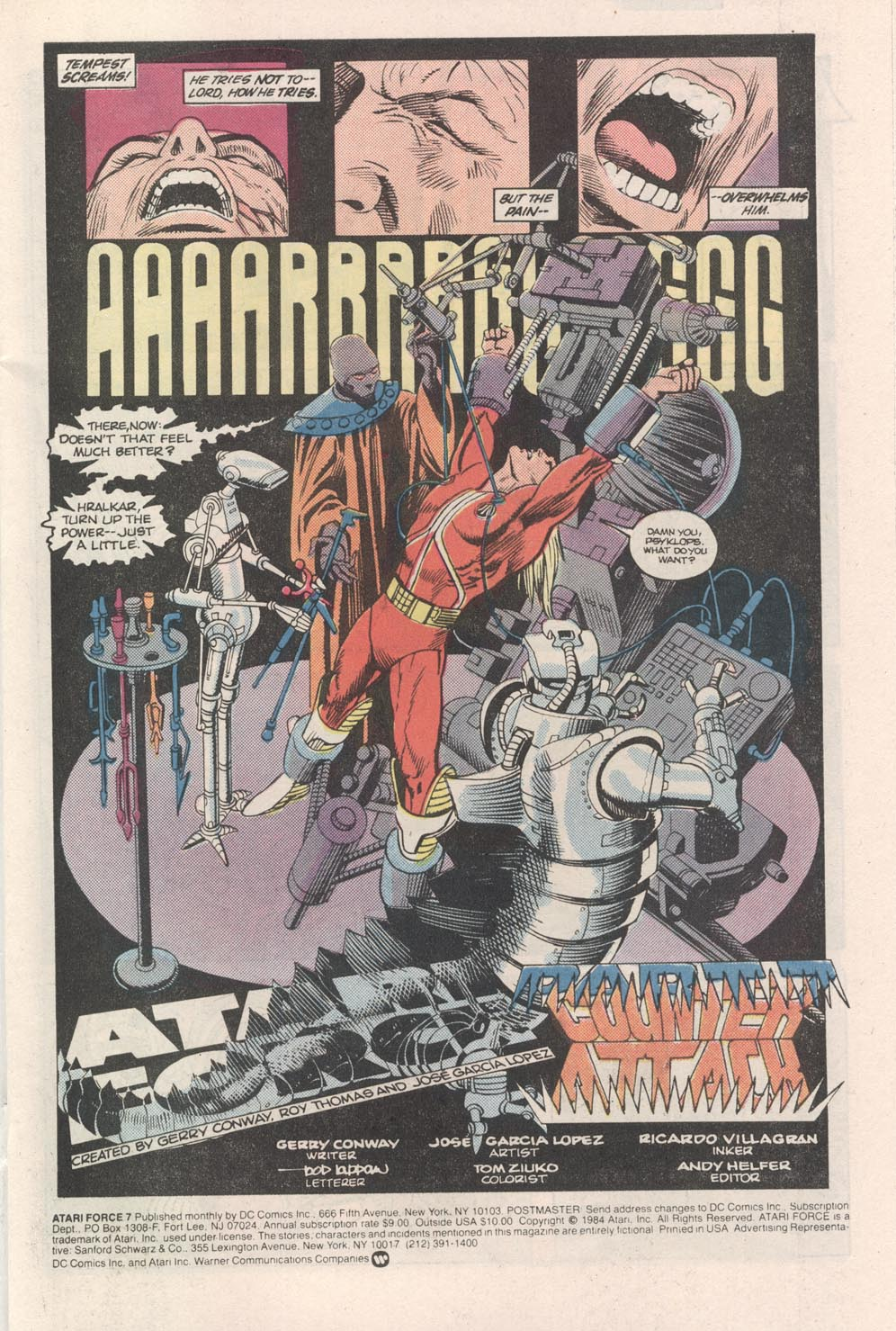Read online Atari Force (1984) comic -  Issue #7 - 2