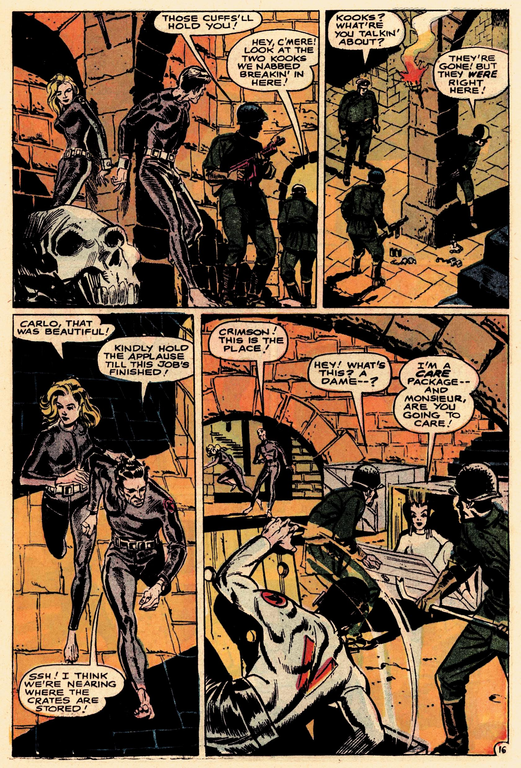Read online Secret Six (1968) comic -  Issue #1 - 21