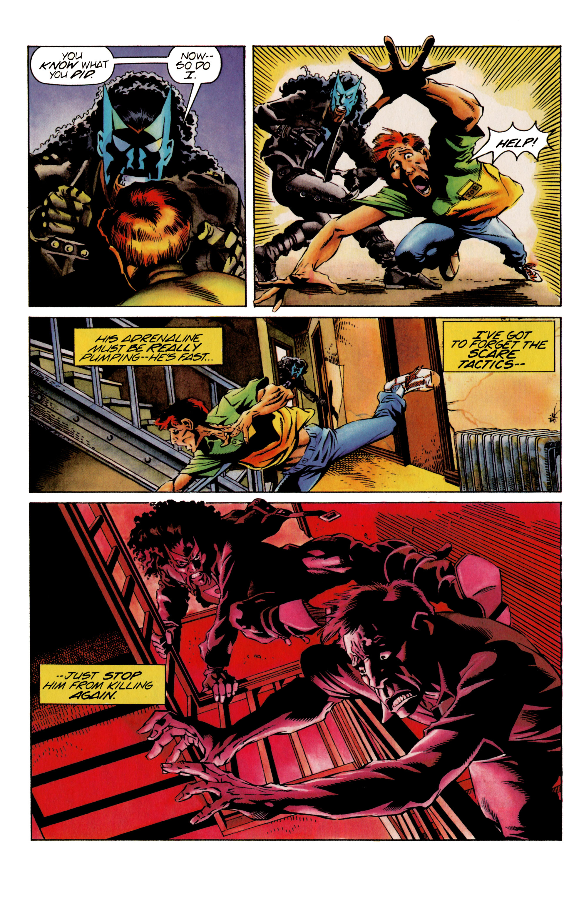 Read online Shadowman (1992) comic -  Issue #25 - 11