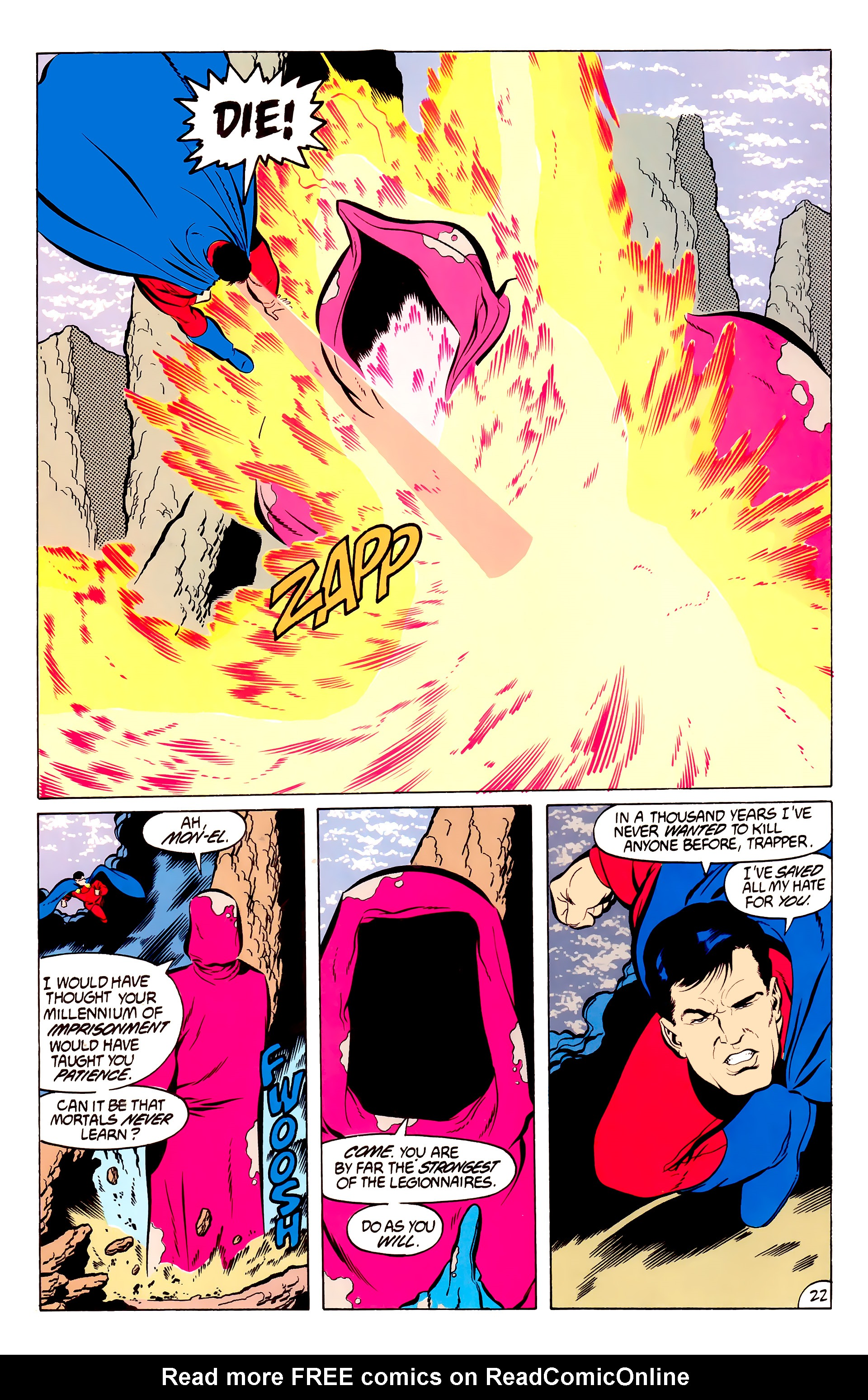 Legion of Super-Heroes (1984) 50 Page 22