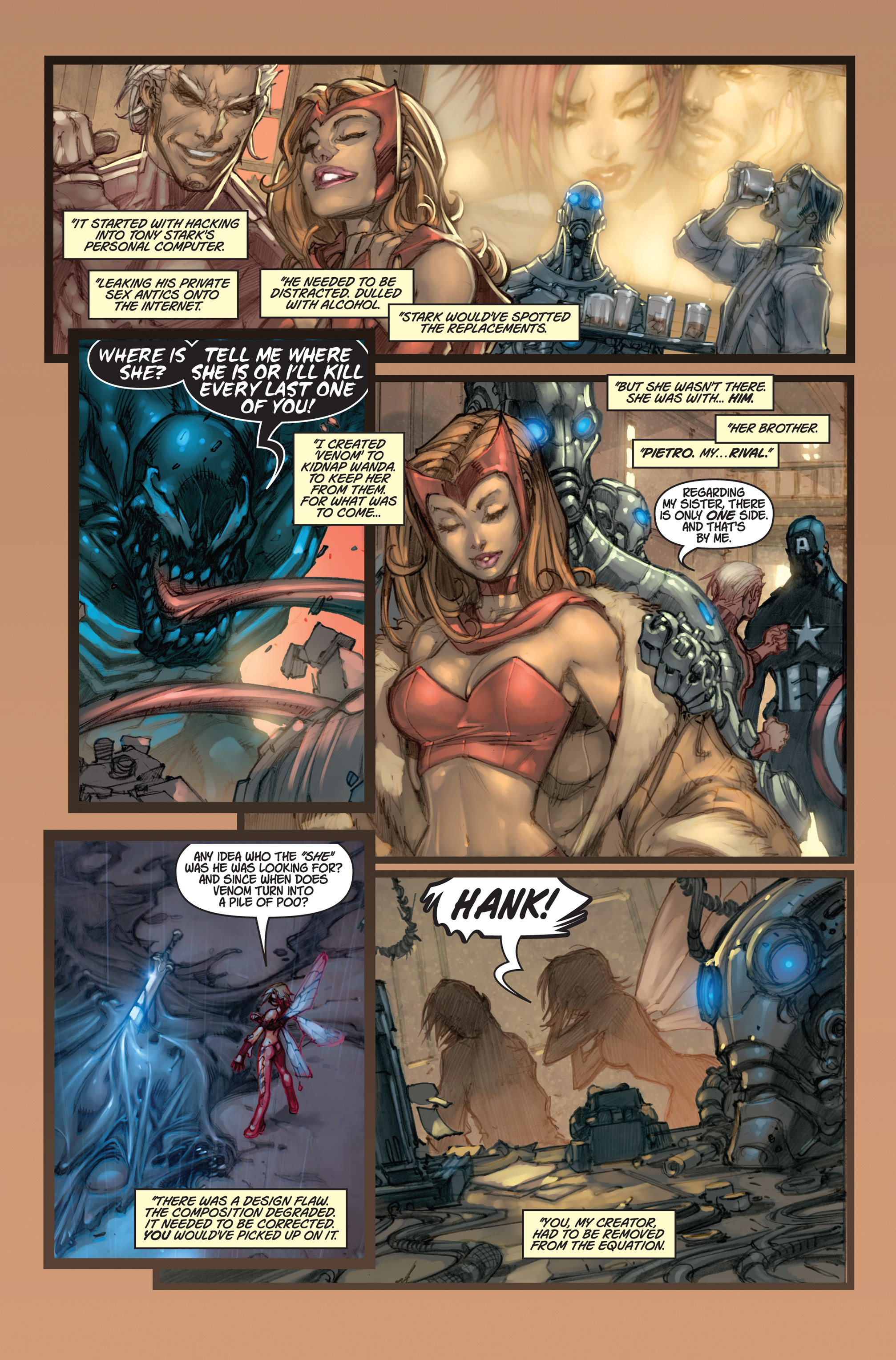 Read online Ultimates 3 comic -  Issue #5 - 5