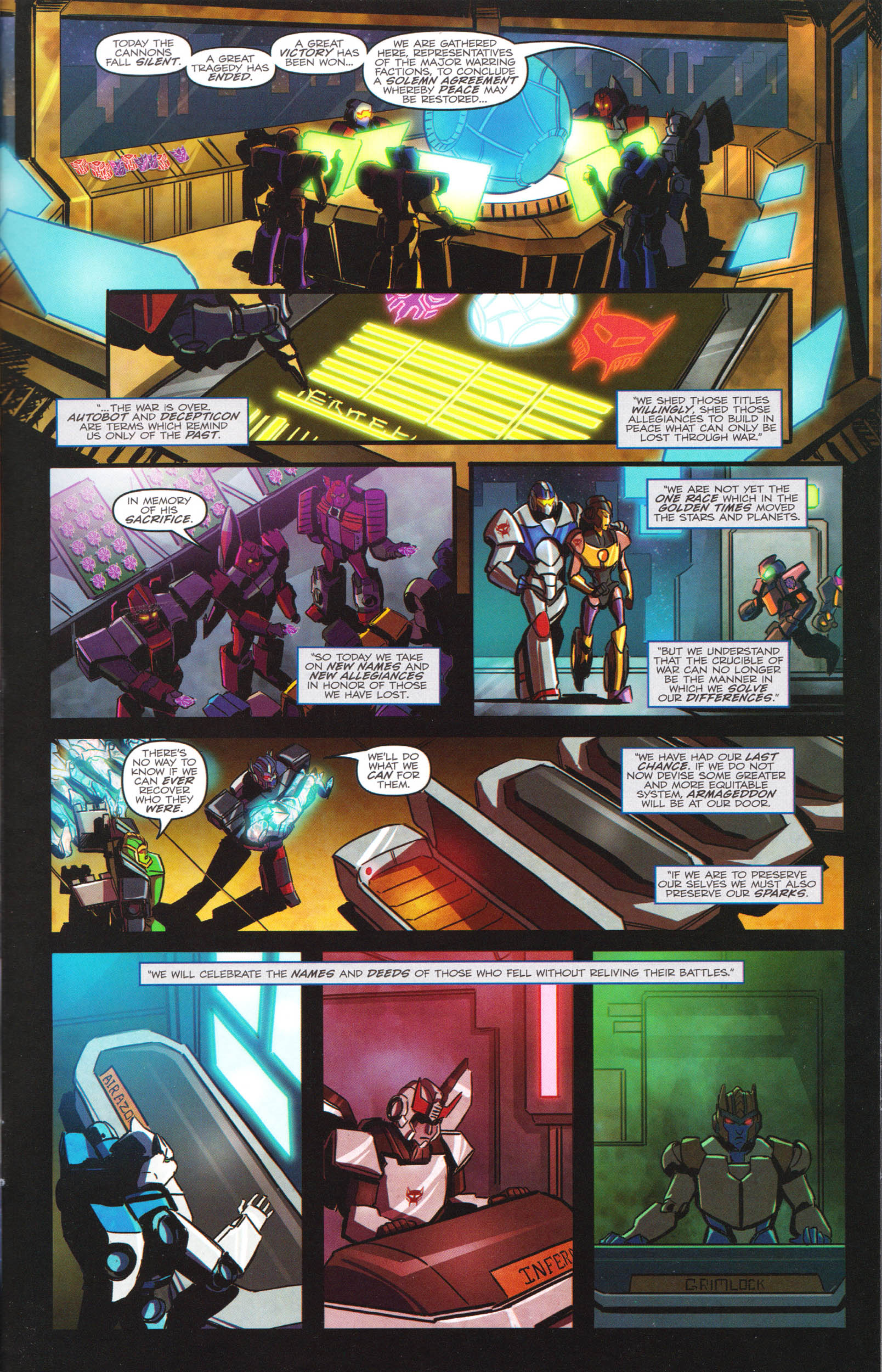 Read online Transformers: Dawn of the Predacus comic -  Issue # Full - 22