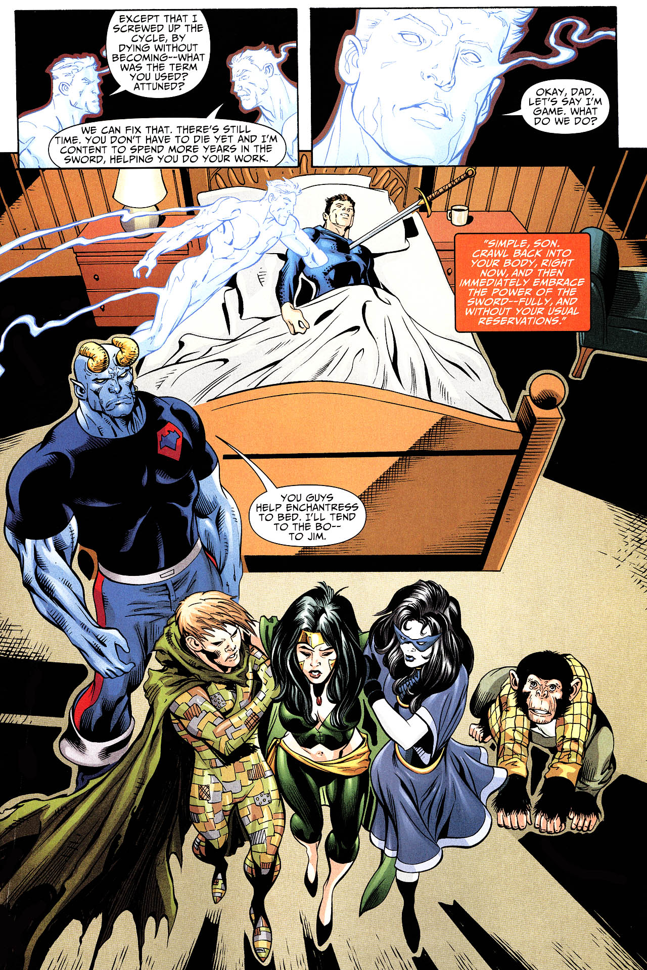 Read online Shadowpact comic -  Issue #12 - 20