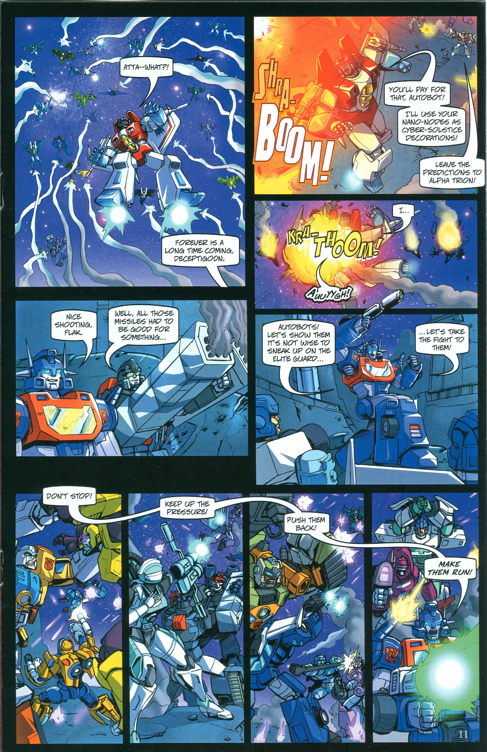 Read online Transformers: Collectors' Club comic -  Issue #39 - 11
