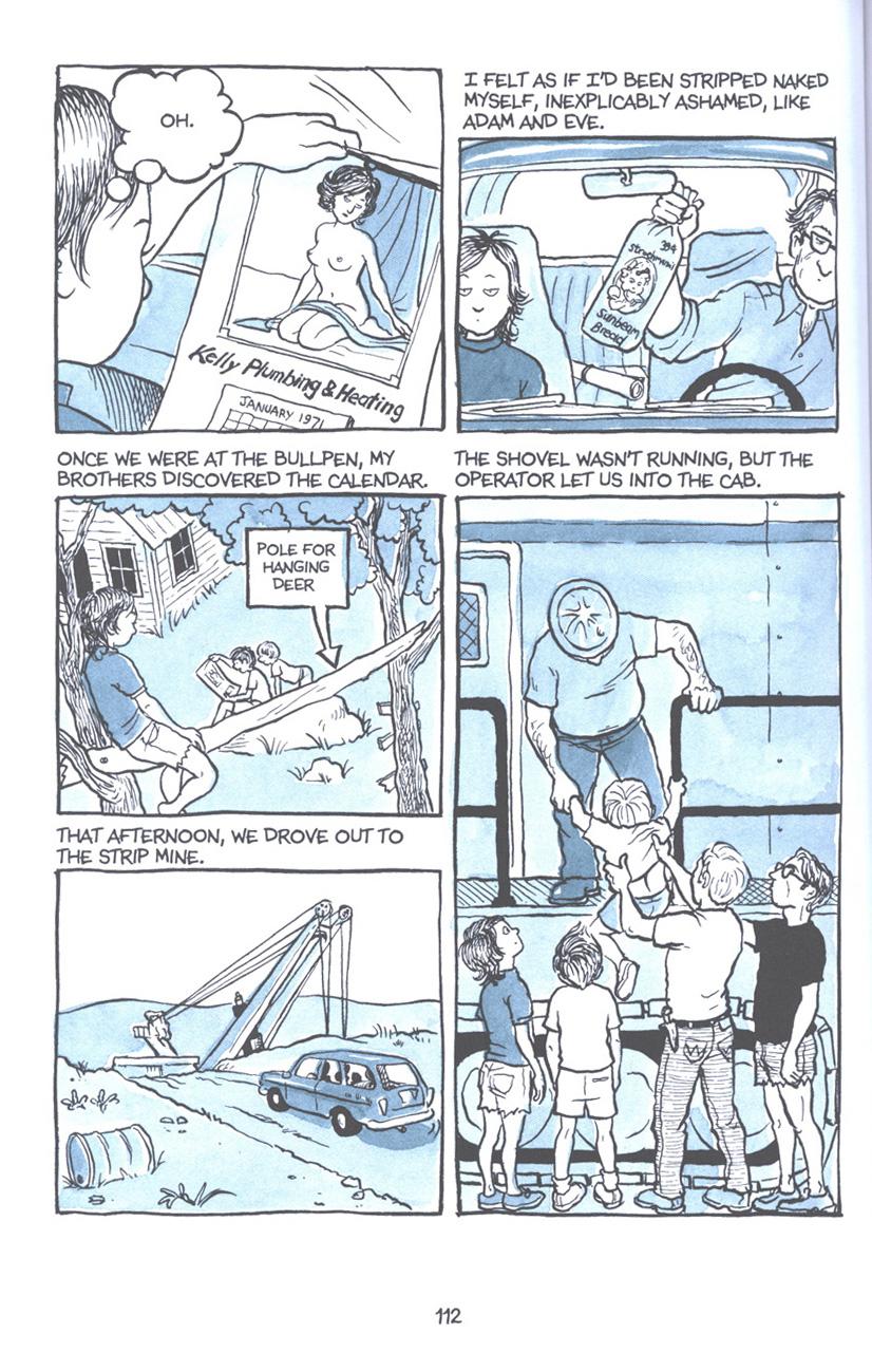 Read online Fun Home: A Family Tragicomic comic -  Issue # TPB - 118