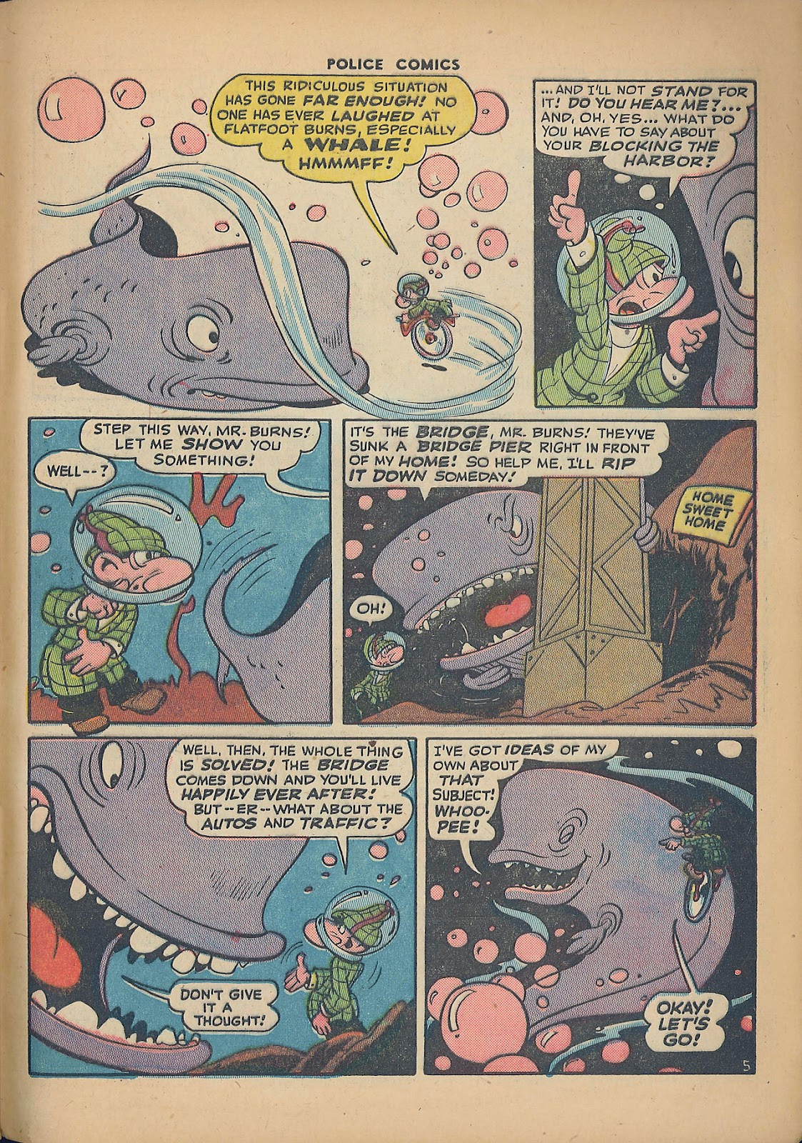 Police Comics issue 44 - Page 49