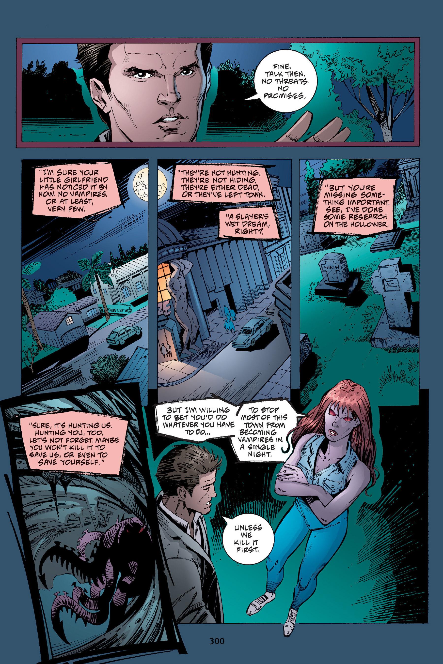 Read online Buffy the Vampire Slayer: Omnibus comic -  Issue # TPB 4 - 297