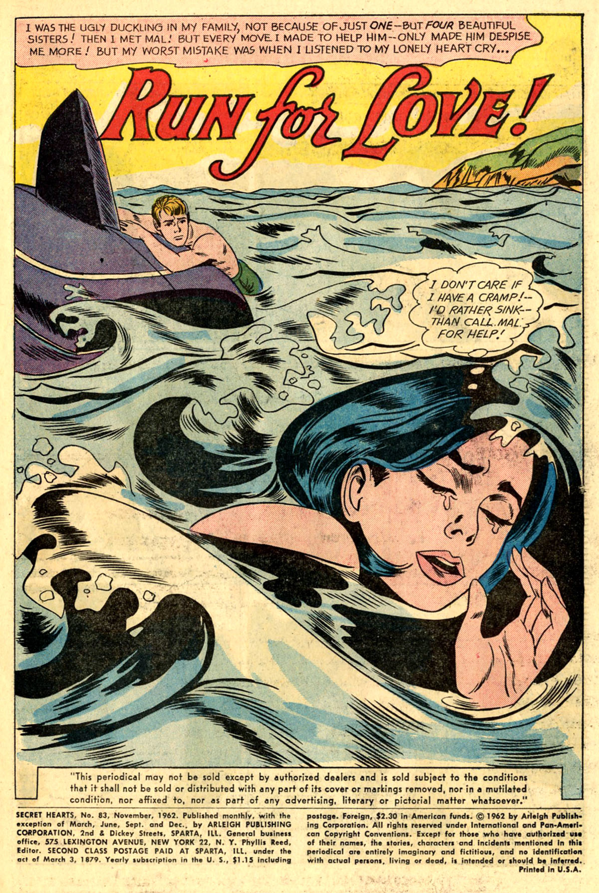 Read online Secret Hearts comic -  Issue #83 - 3