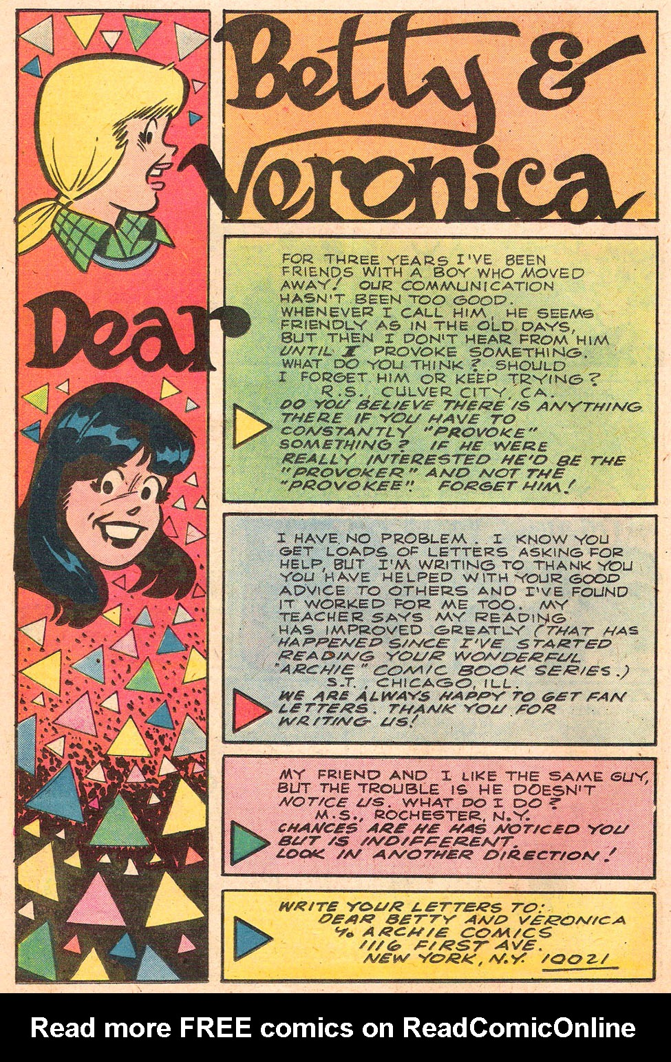Read online Archie's Girls Betty and Veronica comic -  Issue #280 - 26