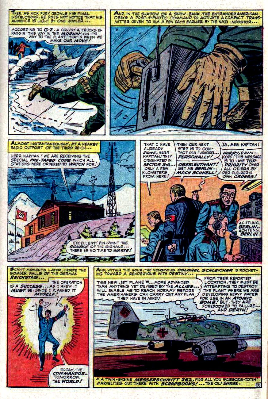 Read online Sgt. Fury comic -  Issue #32 - 11