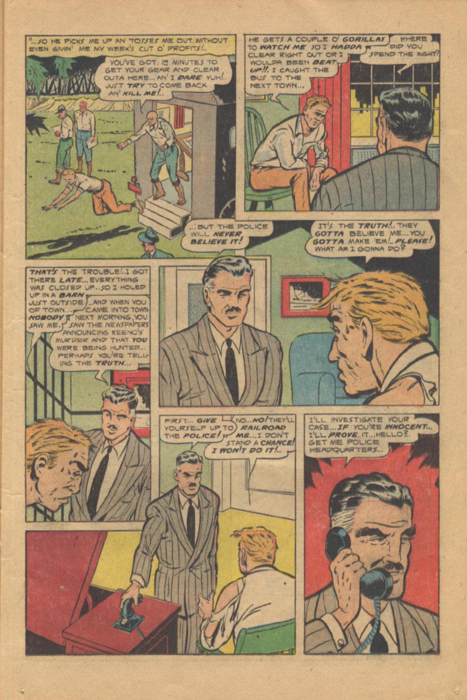 Read online Shadow Comics comic -  Issue #95 - 19