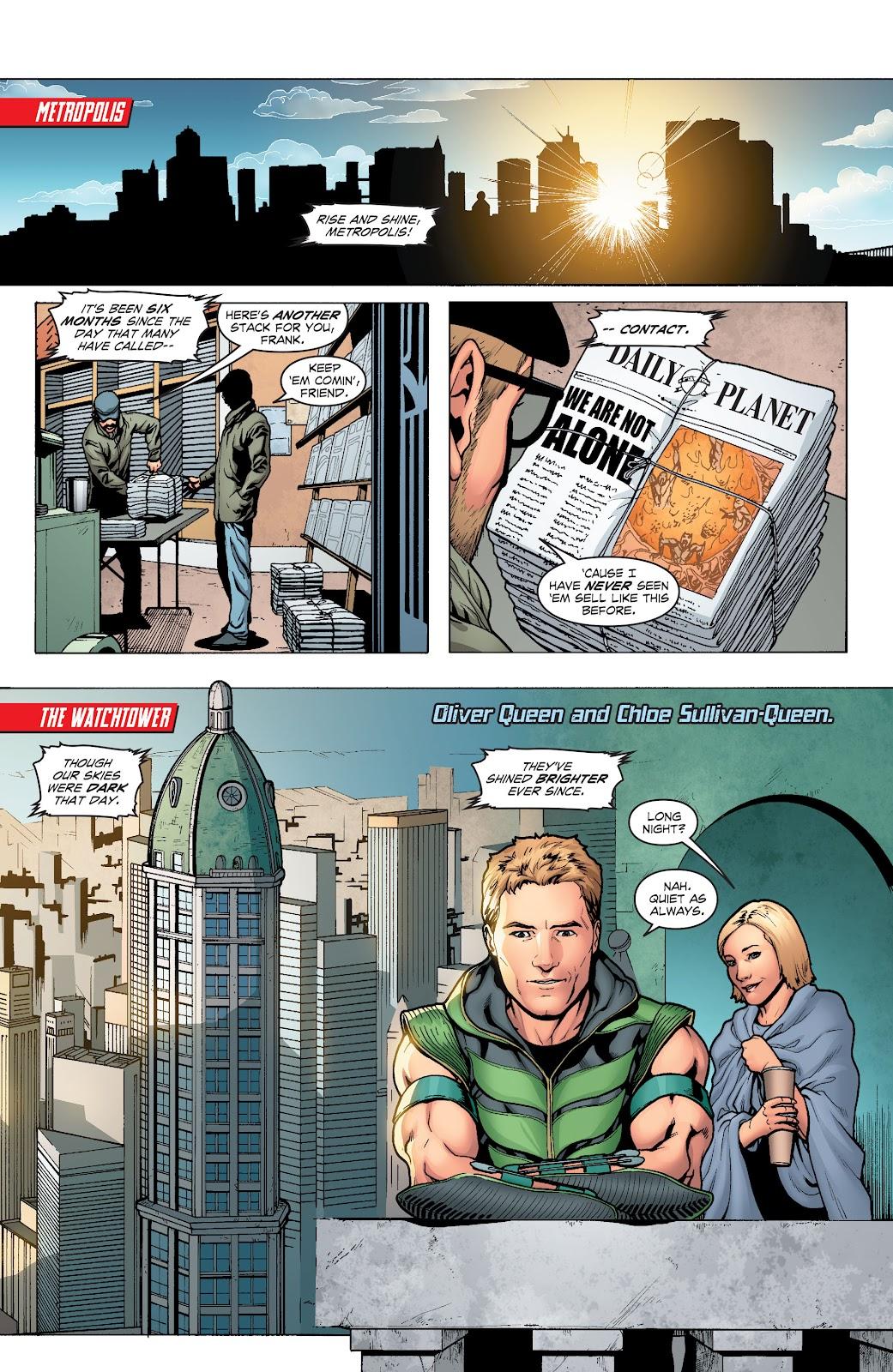 Read online Smallville Season 11 [II] comic -  Issue # TPB 1 - 7