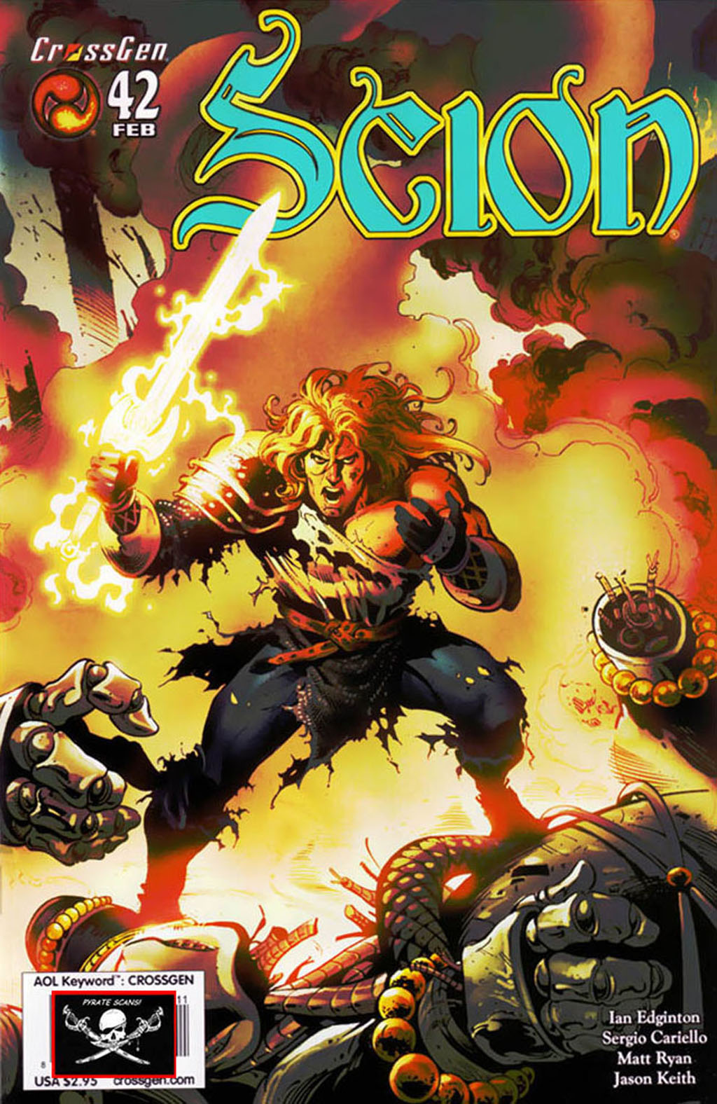 Read online Scion comic -  Issue #42 - 1