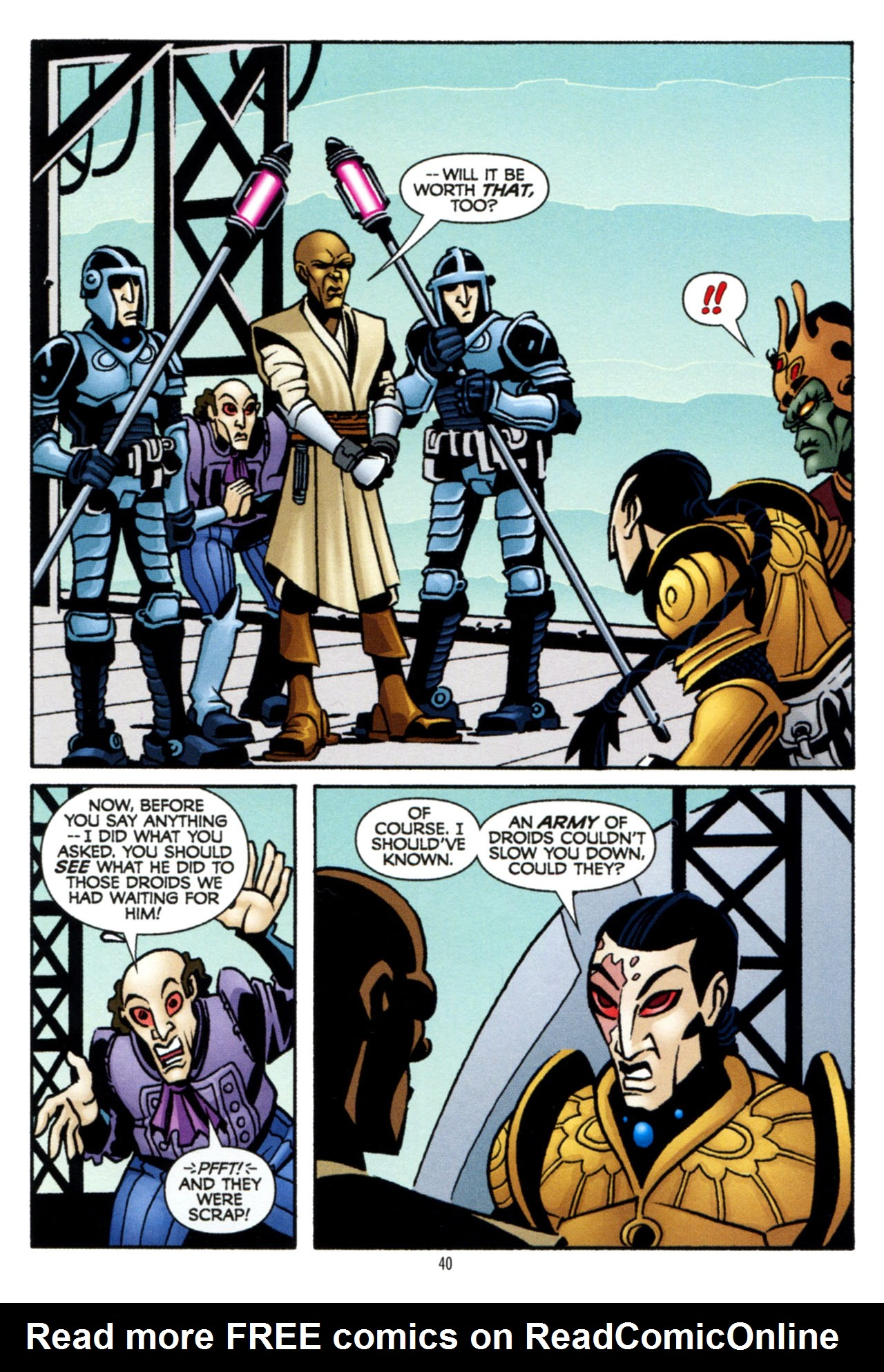 Read online Star Wars: The Clone Wars - The Colossus of Destiny comic -  Issue # Full - 40
