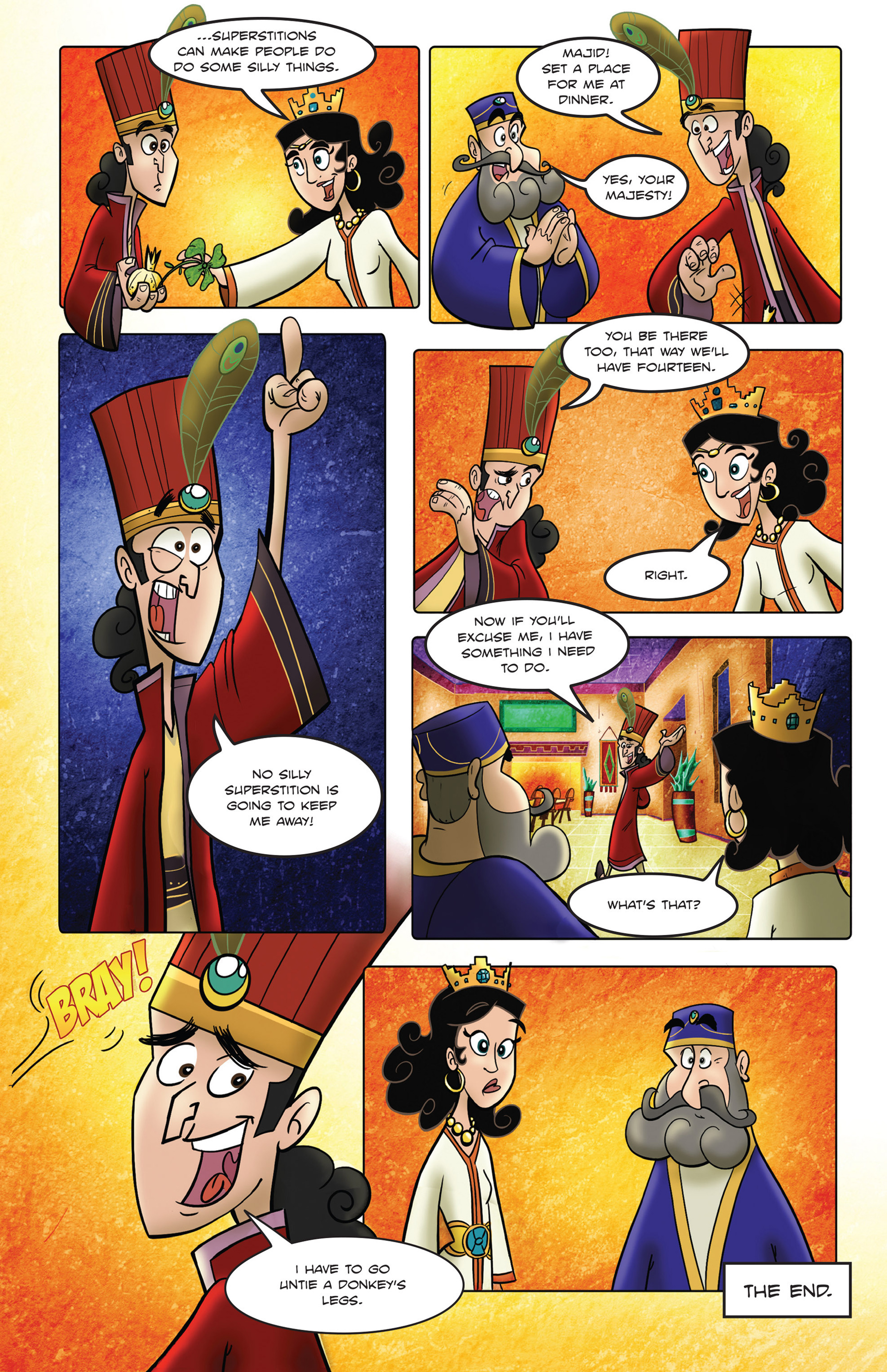 Read online 1001 Nights comic -  Issue #2 - 25