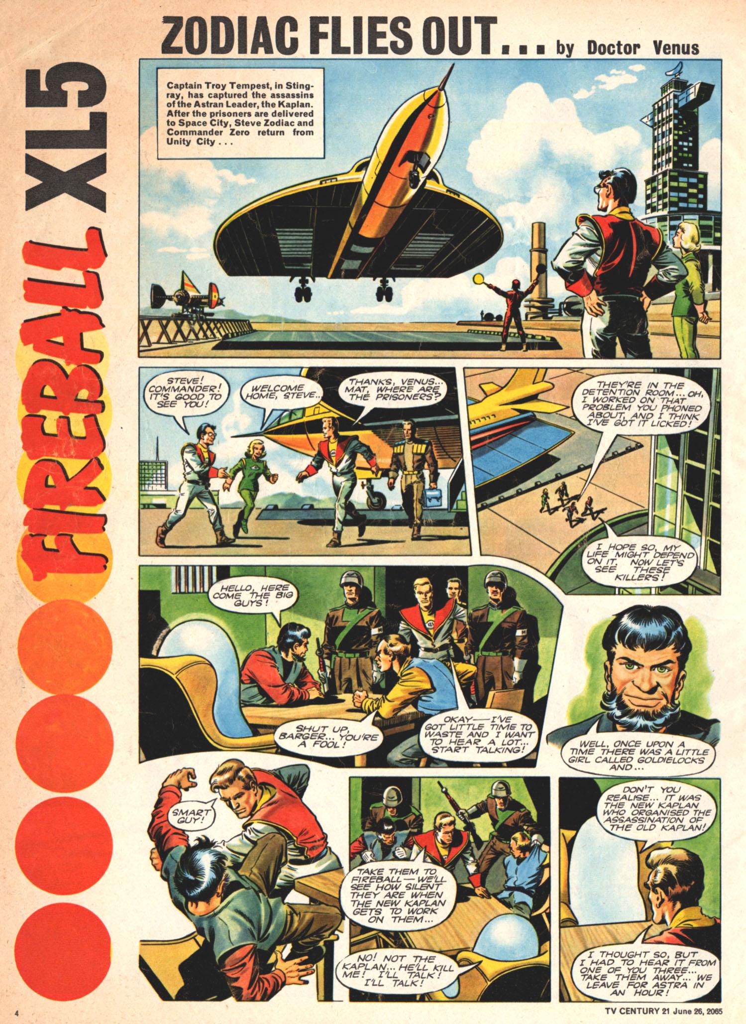 Read online TV Century 21 (TV 21) comic -  Issue #23 - 4