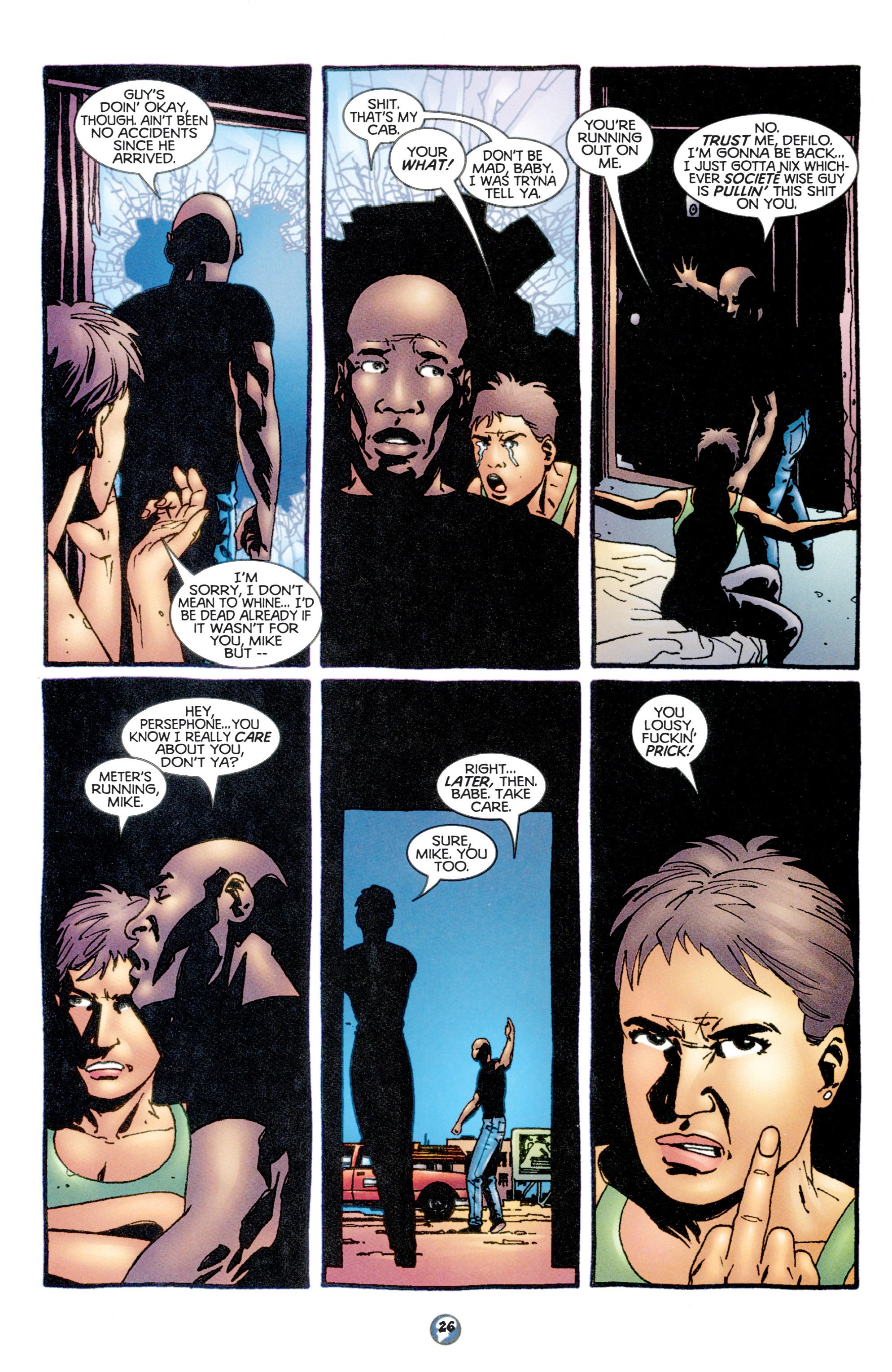Read online Shadowman (1997) comic -  Issue #11 - 21