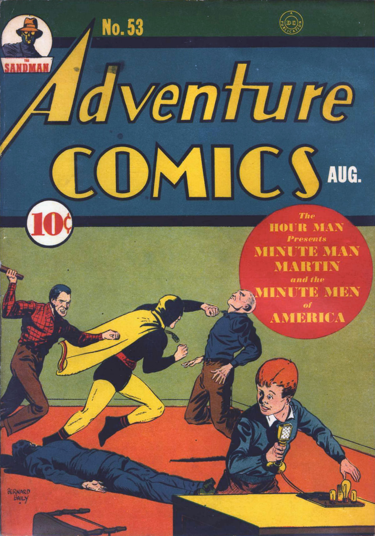 Read online Adventure Comics (1938) comic -  Issue #53 - 2