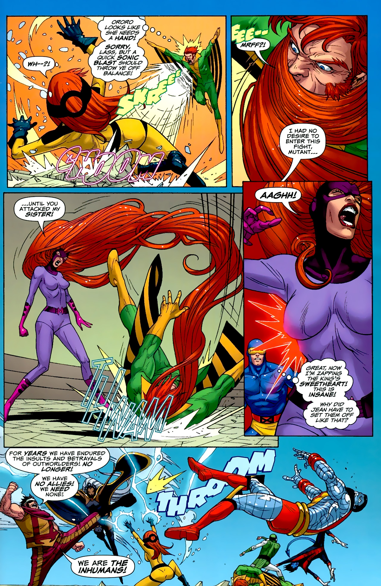 Read online Uncanny X-Men: First Class comic -  Issue #2 - 18