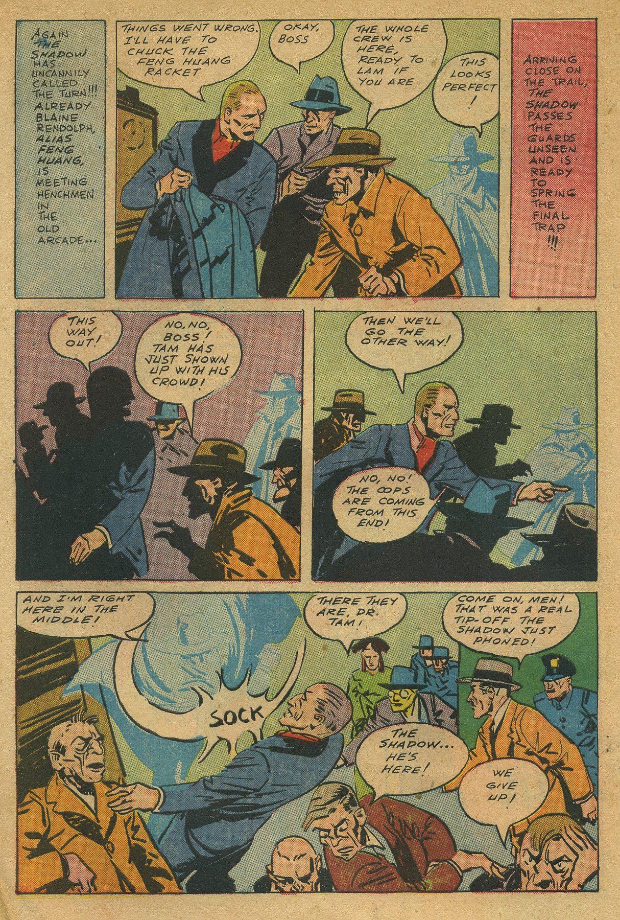 Read online Shadow Comics comic -  Issue #49 - 14