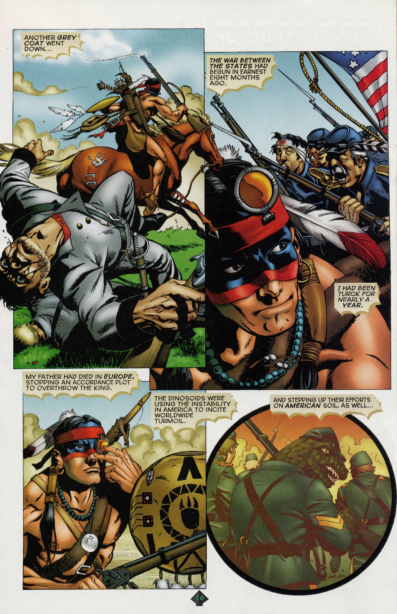 Read online Turok: Tales of the Lost Land comic -  Issue # Full - 14