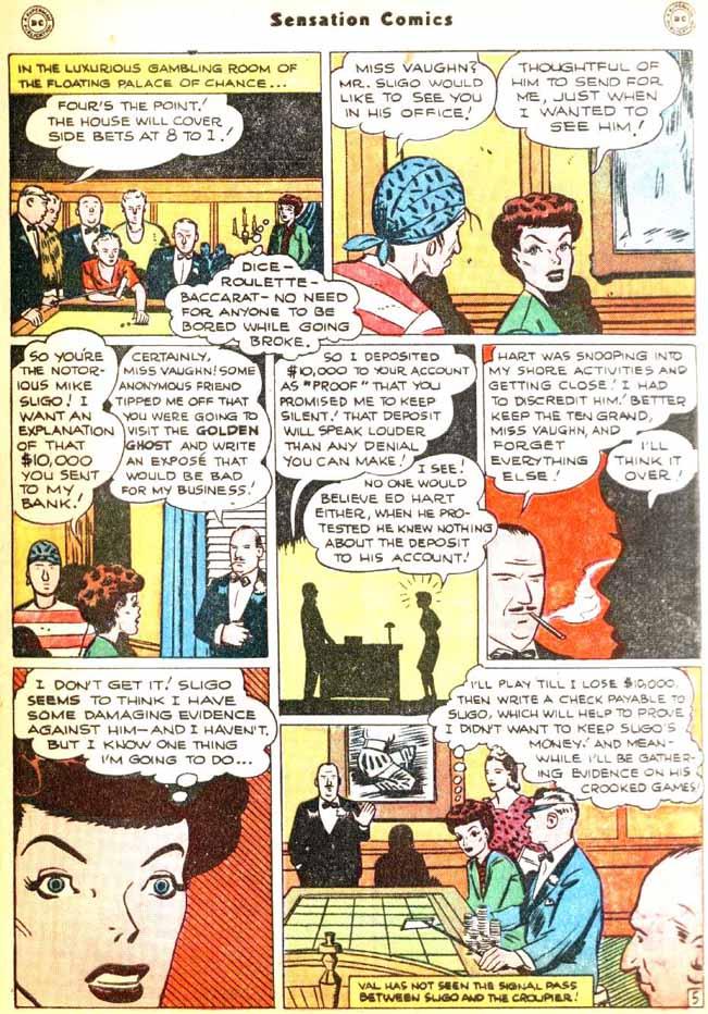 Read online Sensation (Mystery) Comics comic -  Issue #92 - 43