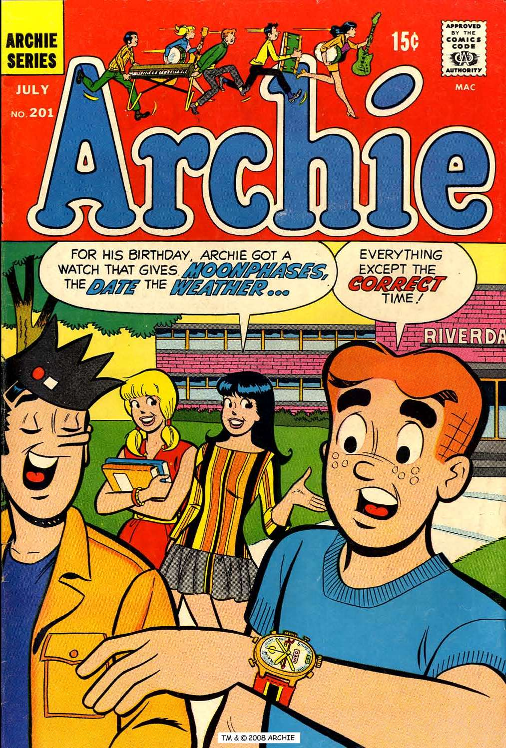 Read online Archie (1960) comic -  Issue #201 - 1