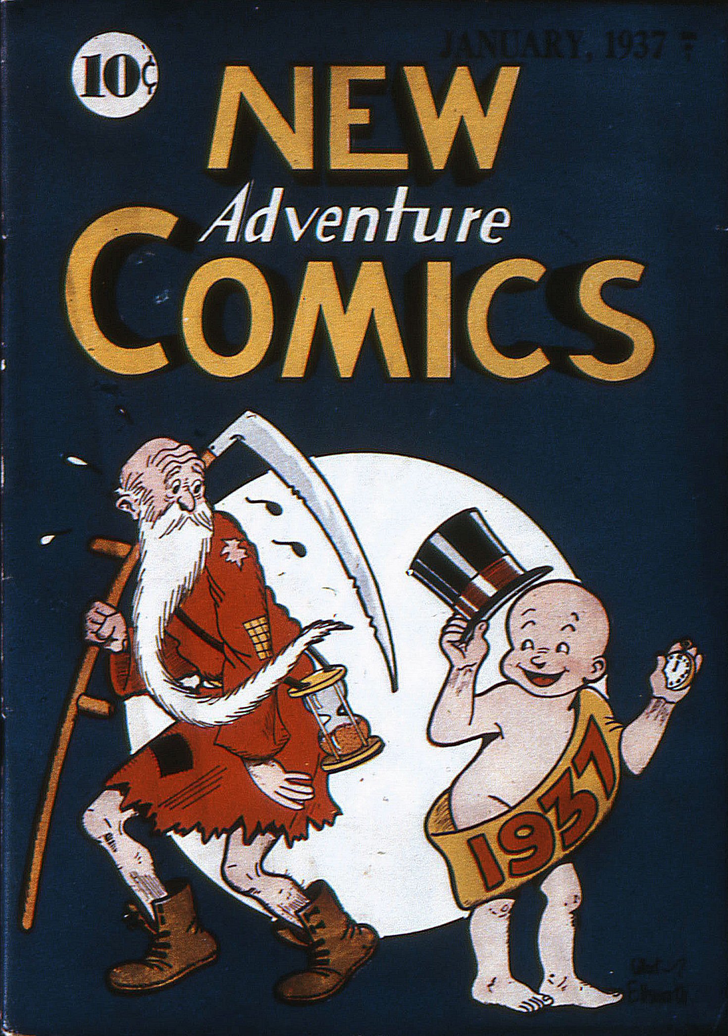 Read online Adventure Comics (1938) comic -  Issue #12 - 2