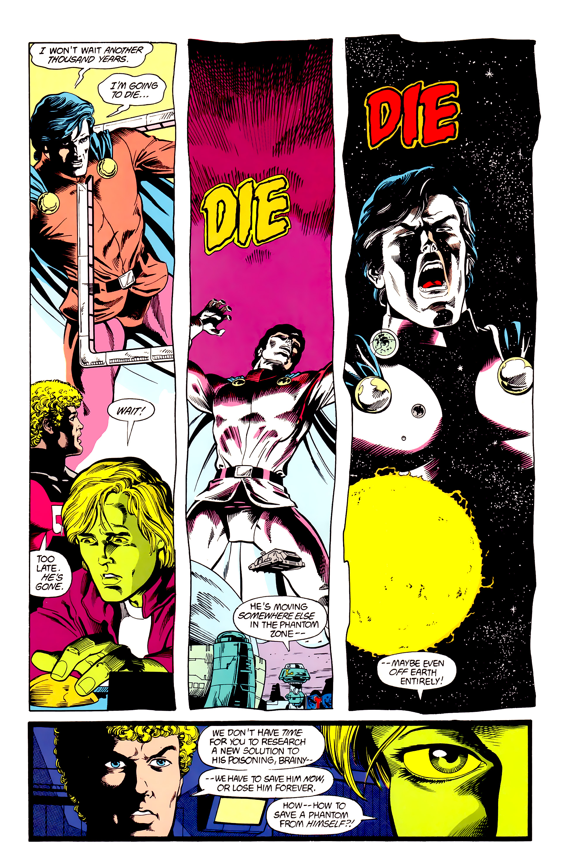 Legion of Super-Heroes (1984) 23 Page 11