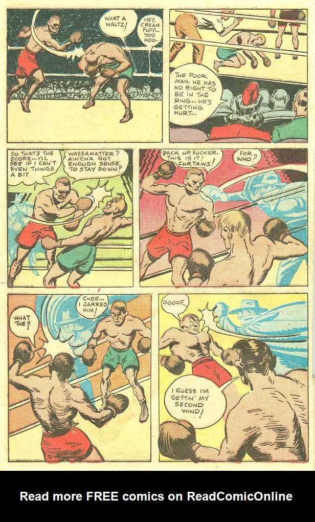 Read online Shadow Comics comic -  Issue #79 - 7