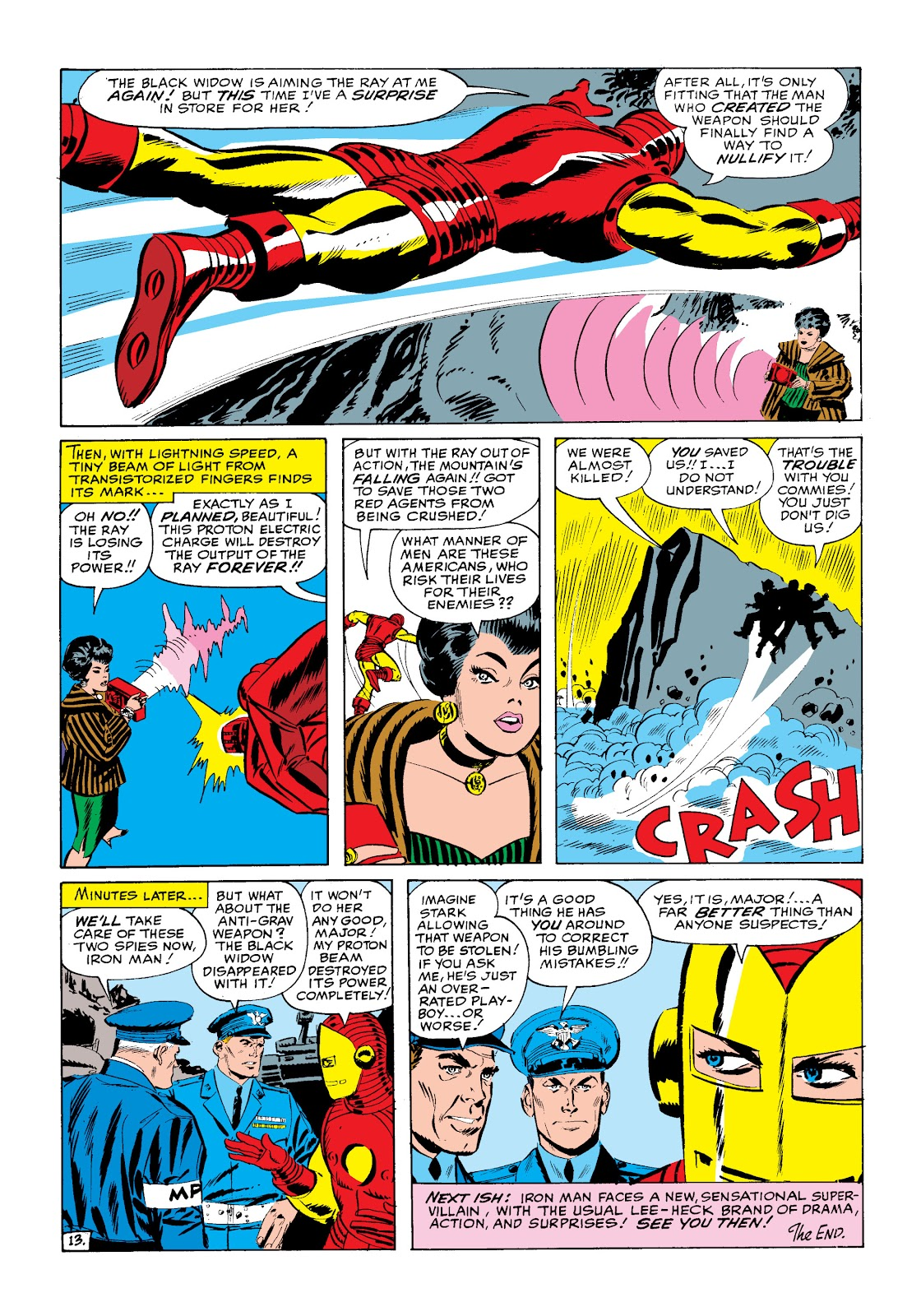 Read online Marvel Masterworks: The Invincible Iron Man comic -  Issue # TPB 2 (Part 1) - 44