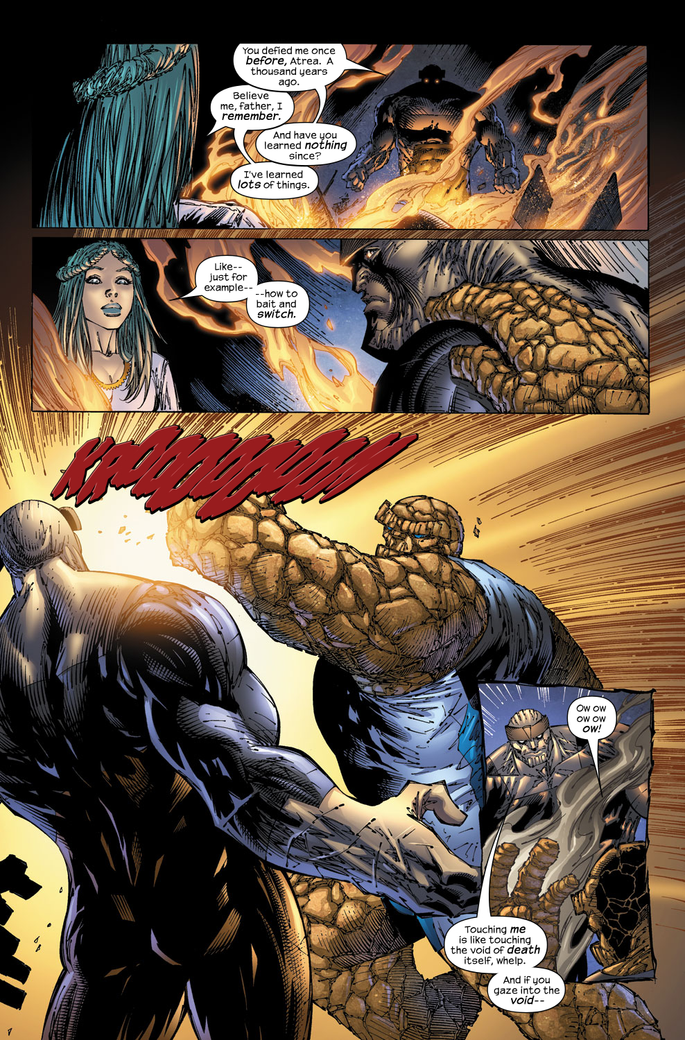 Read online Ultimate Fantastic Four (2004) comic -  Issue #53 - 13
