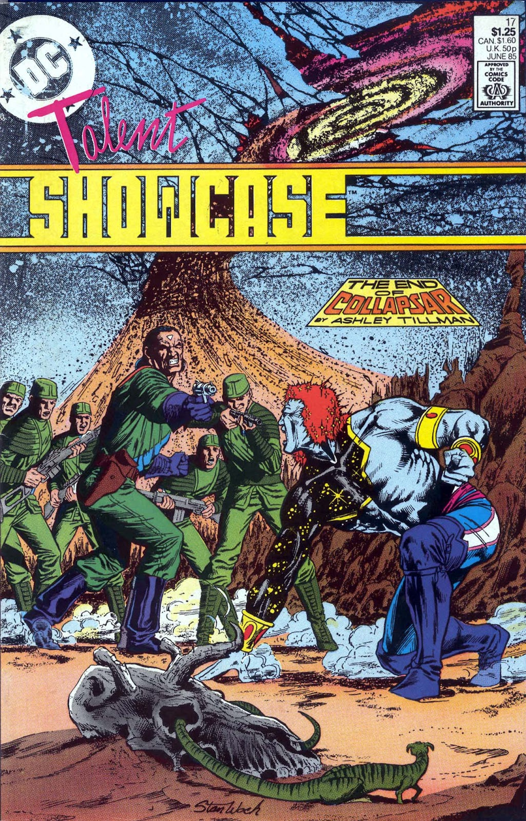 Read online The New Talent Showcase comic -  Issue #17 - 1