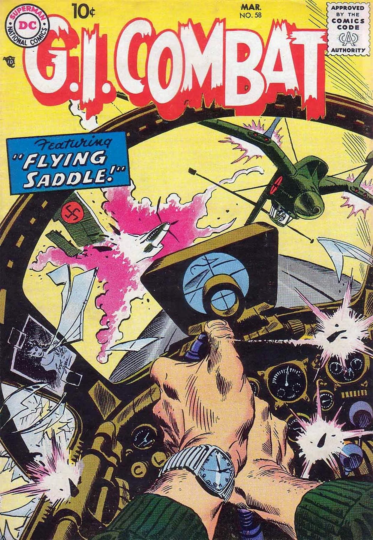 G.I. Combat (1952) 58 Page 1