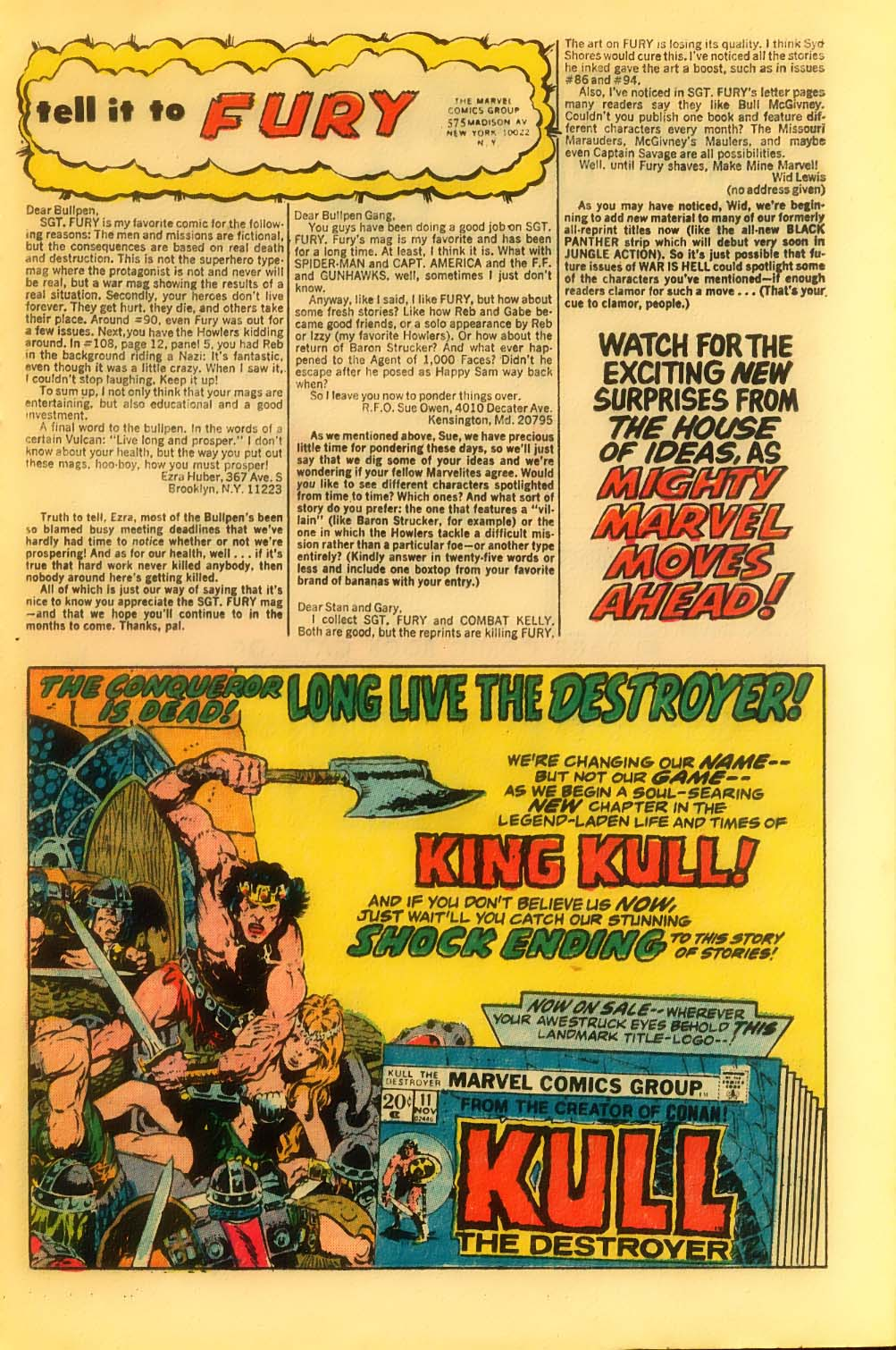 Read online Sgt. Fury comic -  Issue #116 - 21
