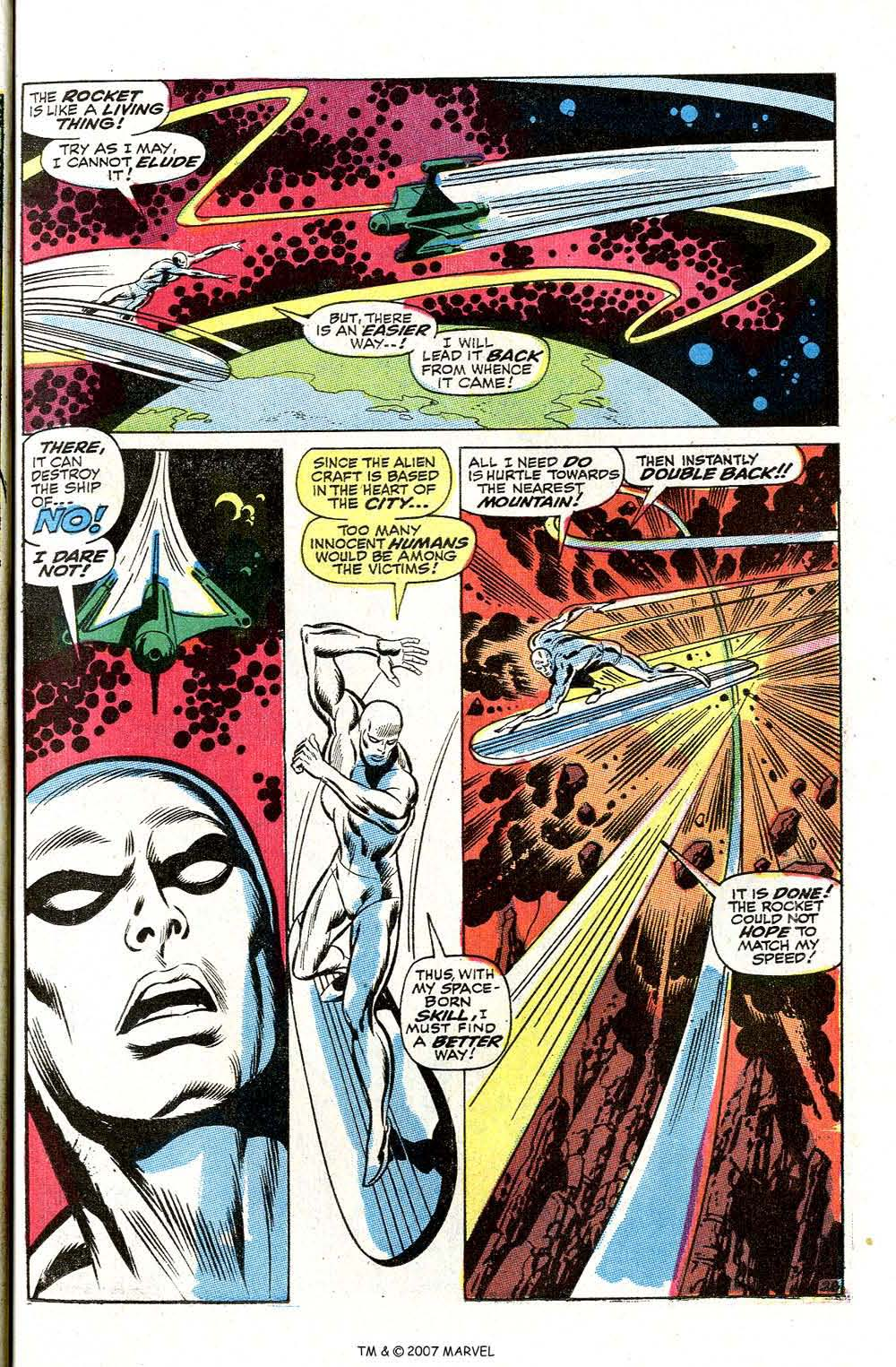 Read online Silver Surfer (1968) comic -  Issue #2 - 37